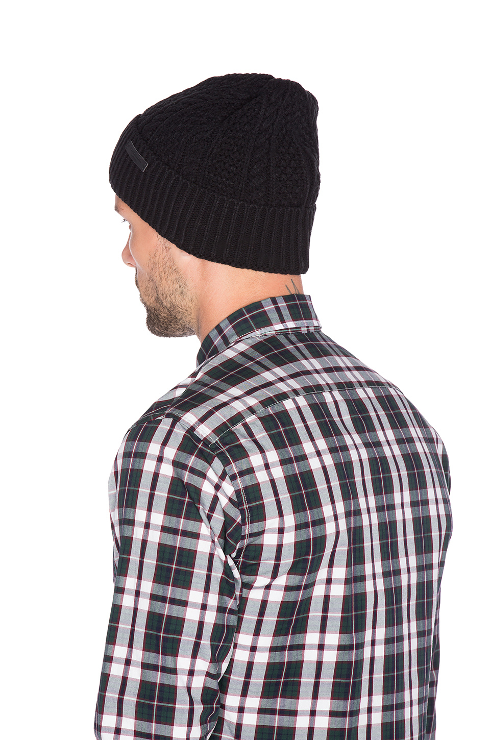 Lyst - Scotch   Soda Beanie In Monsanto Quality in Black for Men 0eded3be13d