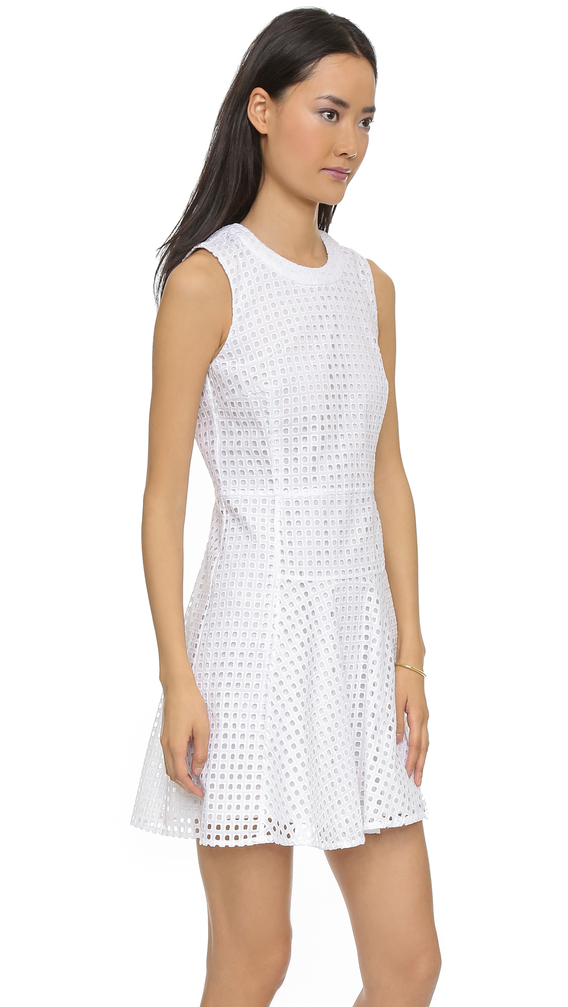 314e23fd99 Gallery. Previously sold at  Shopbop · Women s White Dresses ...