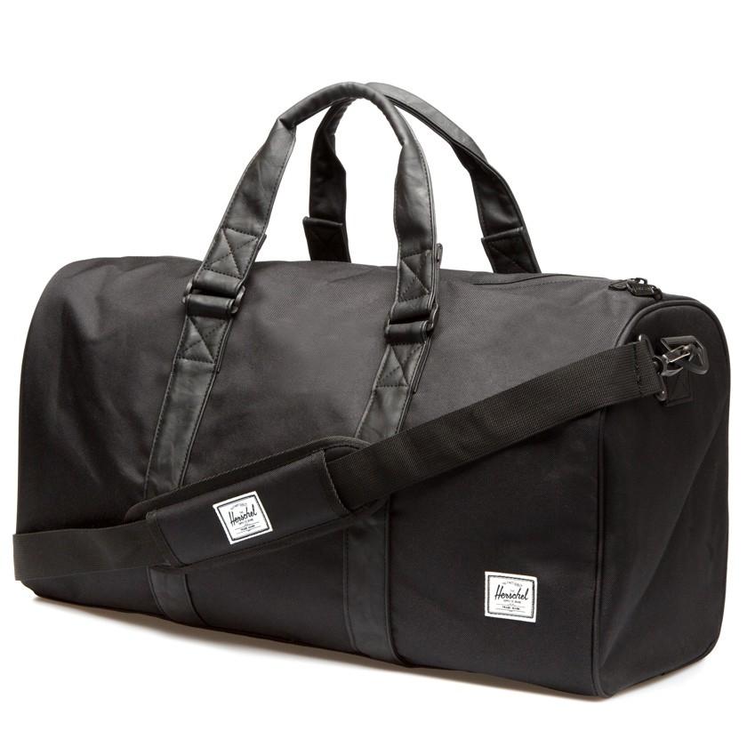 Herschel supply co. All Black Ravine Duffle Bag in Black for Men ...