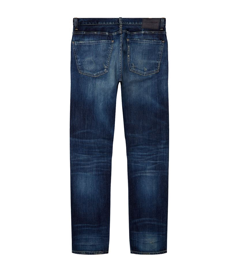 citizens of humanity bowery pure slim jeans in blue for men lyst. Black Bedroom Furniture Sets. Home Design Ideas