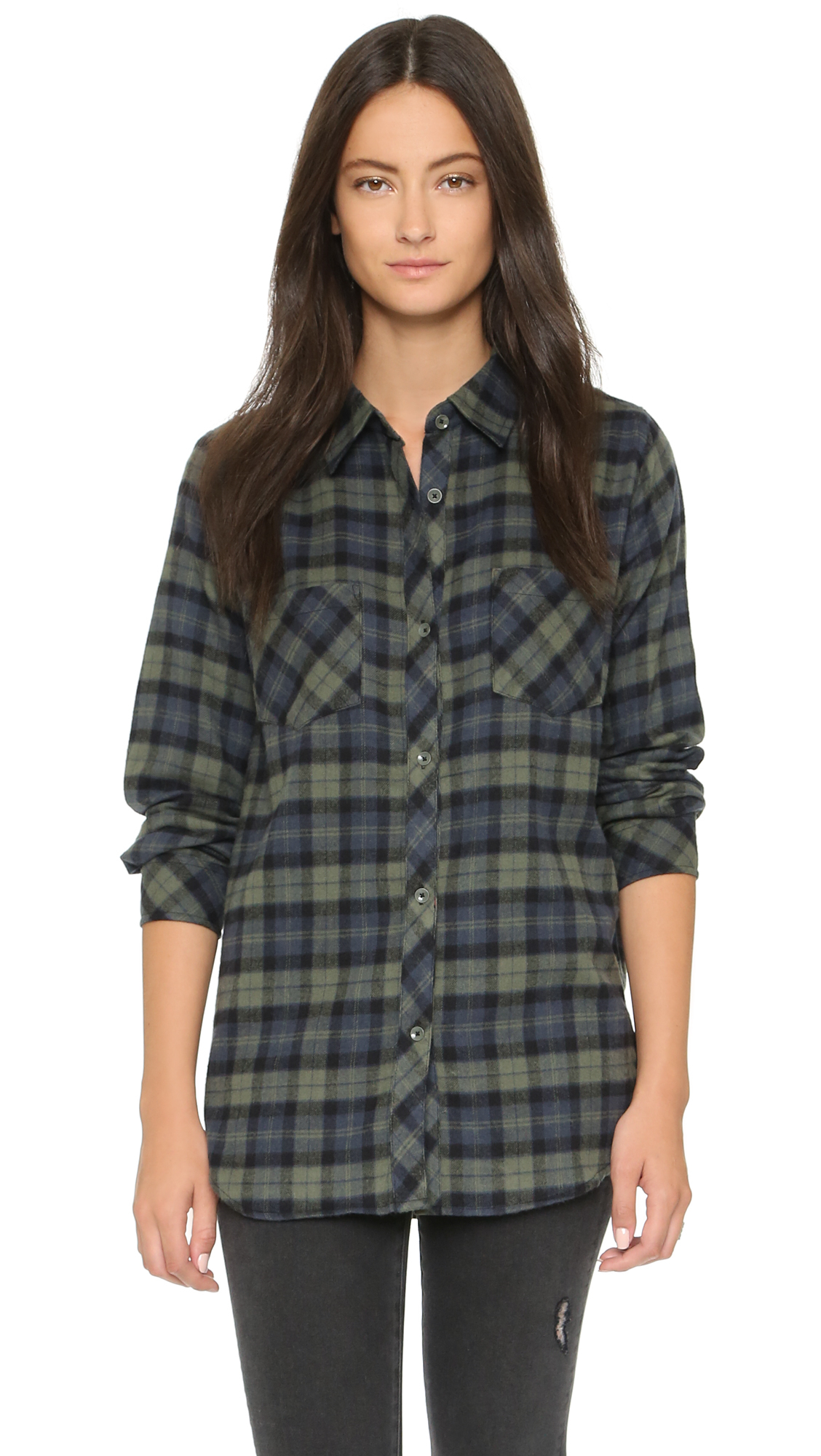 Wrangler Long Sleeve Dark Blue Plaid Button Up Shirt 3WDB. This 3W Wrangler long sleeve plaid shirt is % cotton yarn. Other features of this shirt are under arm gussets and vent holes, button down collar, two-button front patch pockets with flaps, and straight back shopnow-jl6vb8f5.ga: Wrangler.