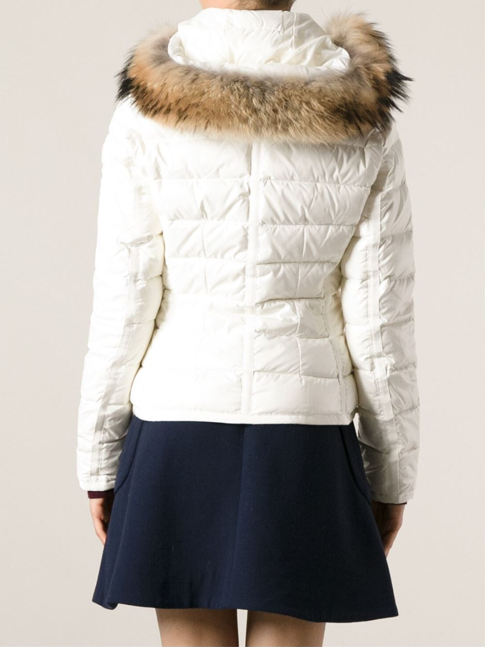 Moncler Armoise Padded Jacket In White Lyst