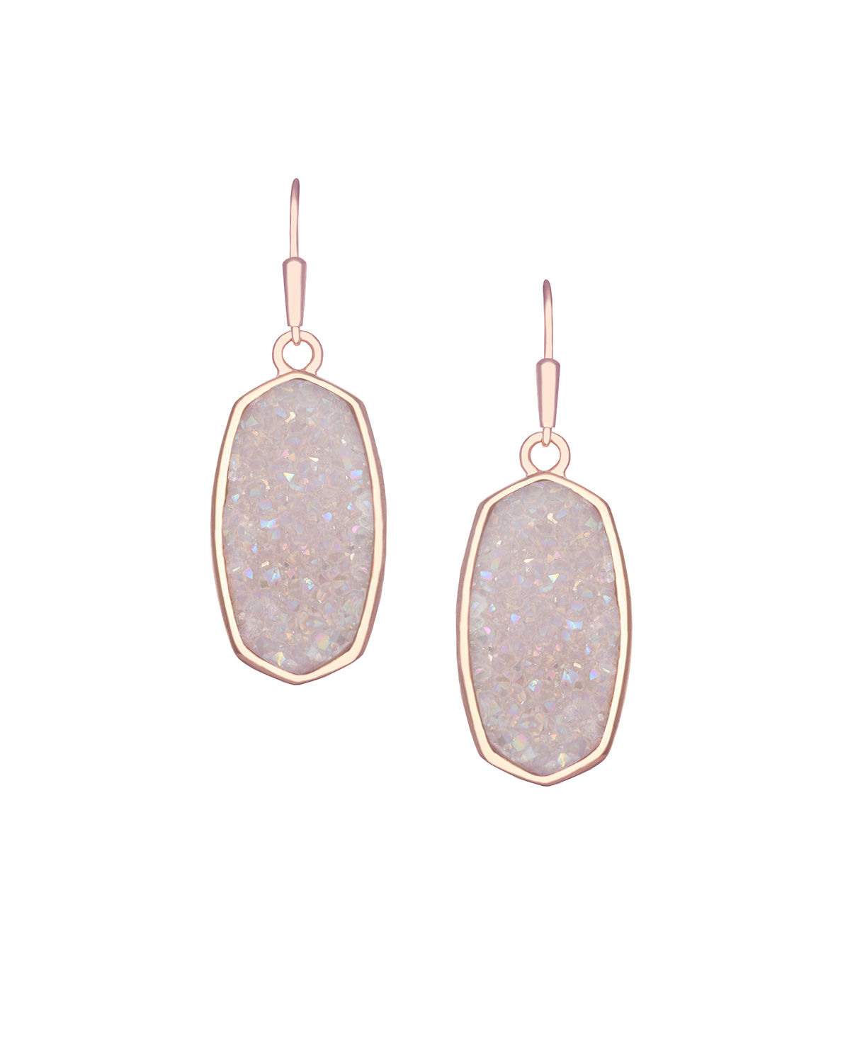 Lyst Kendra Scott Danay Druzy Agate Earrings in Purple