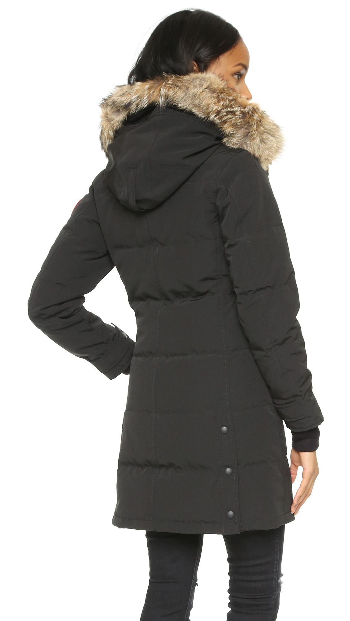canada goose black shelburne parka