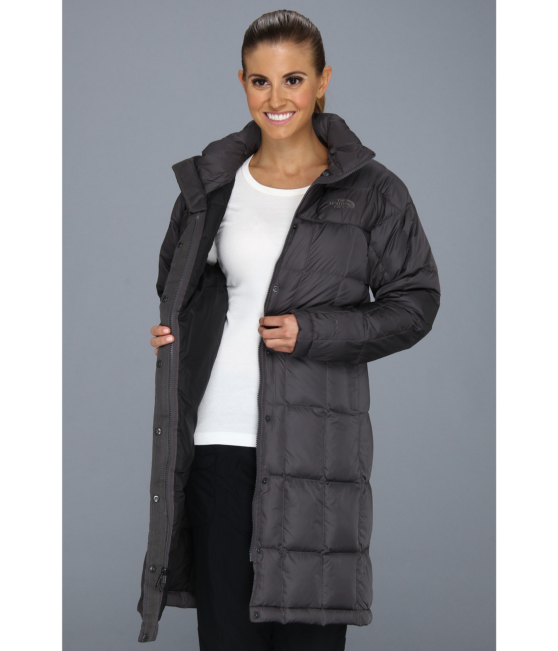 b81c927c The North Face Metropolis Parka in Gray - Lyst