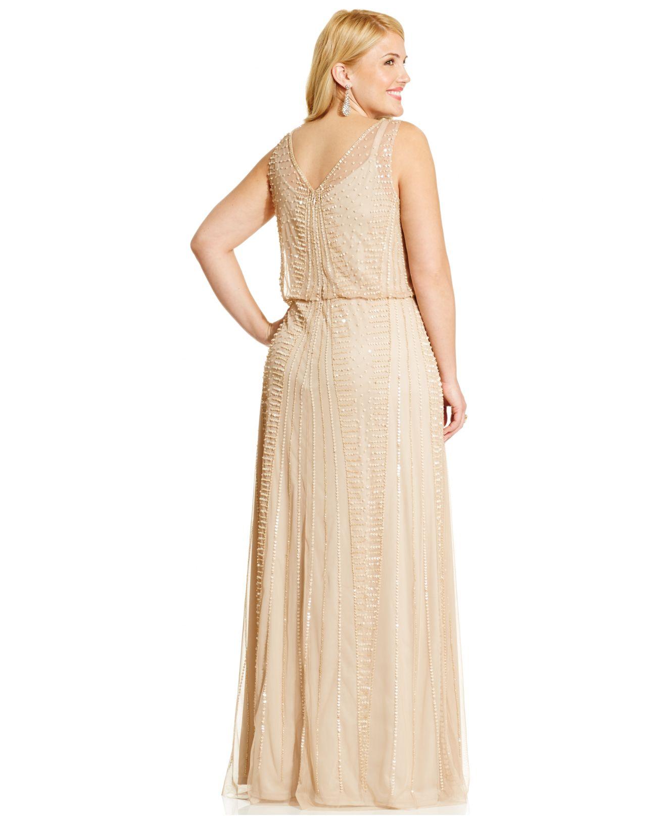 Adrianna Papell Plus Size Wedding Dresses