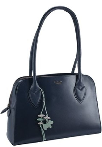 Radley Aldgate Medium Ziptop Tote Bag in Blue (navy)
