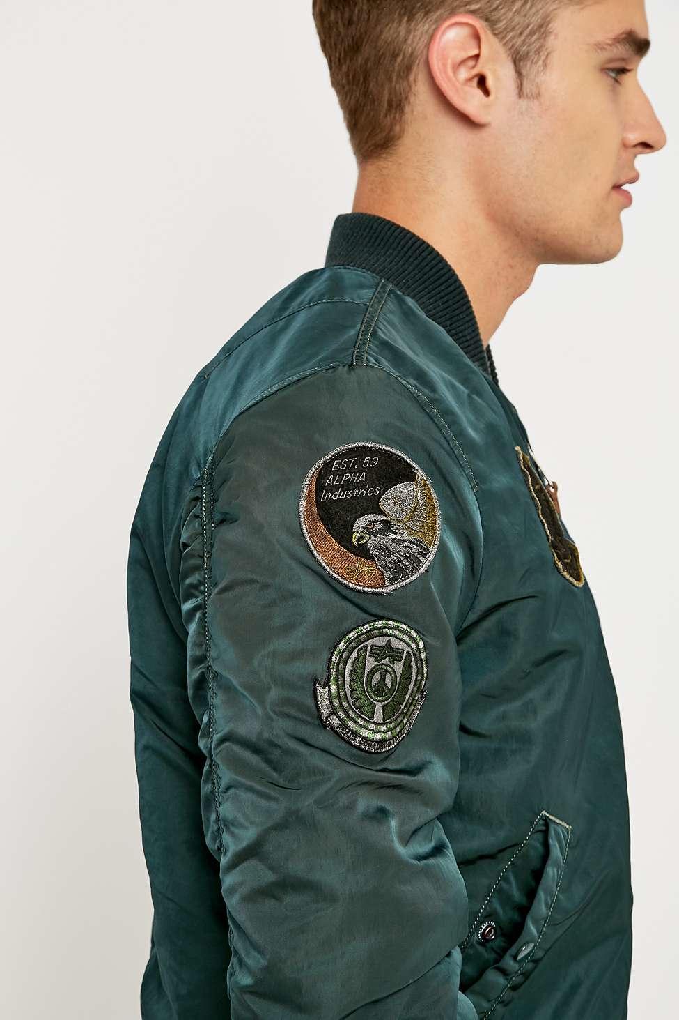 53123ee1627 Alpha Industries Cwu Pilot Jacket in Blue for Men - Lyst