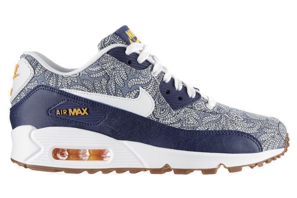 t shirt vans pas cher - Nike Air Max 90 Liberty in Blue | Lyst