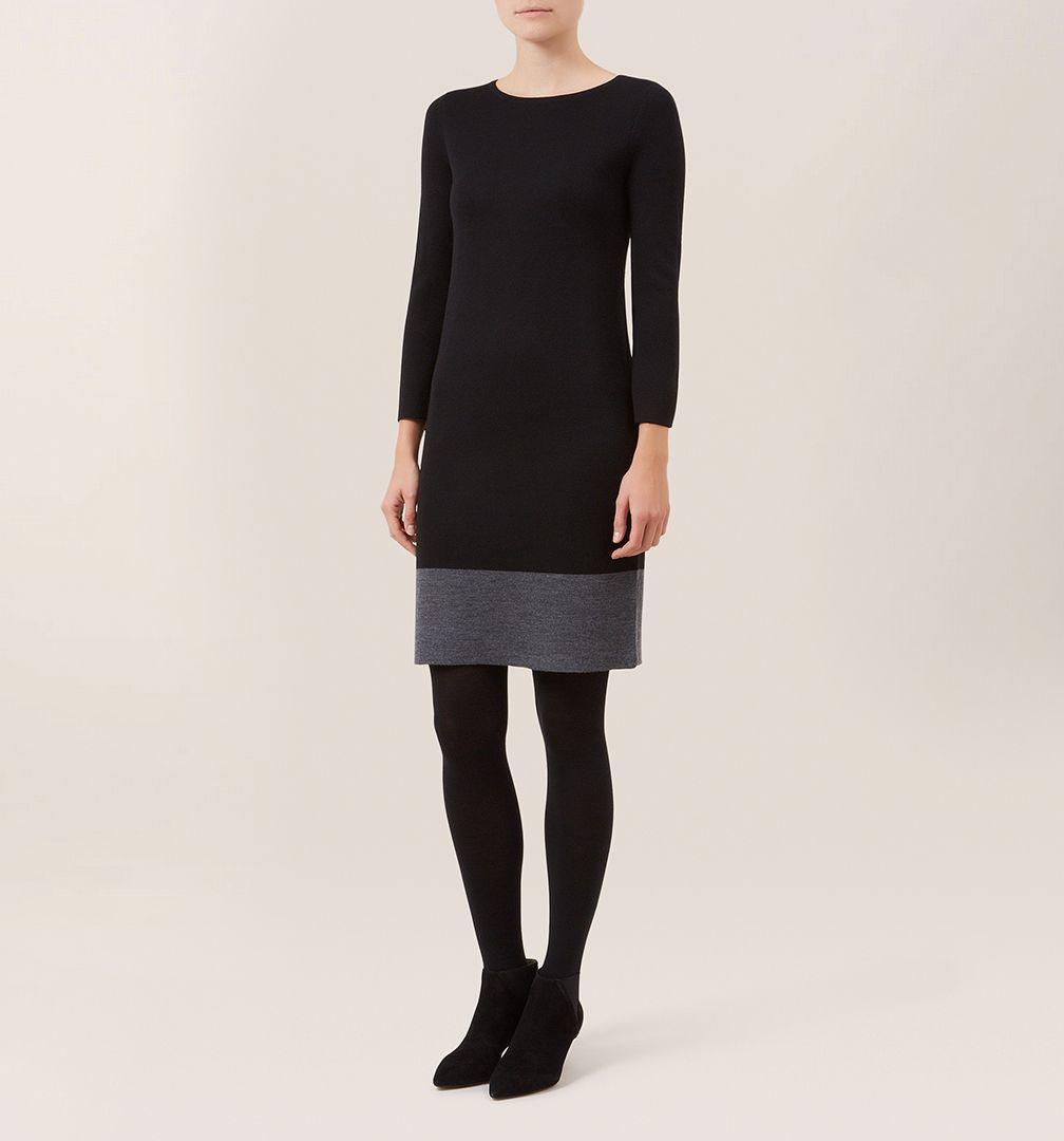 Hobbs black dress
