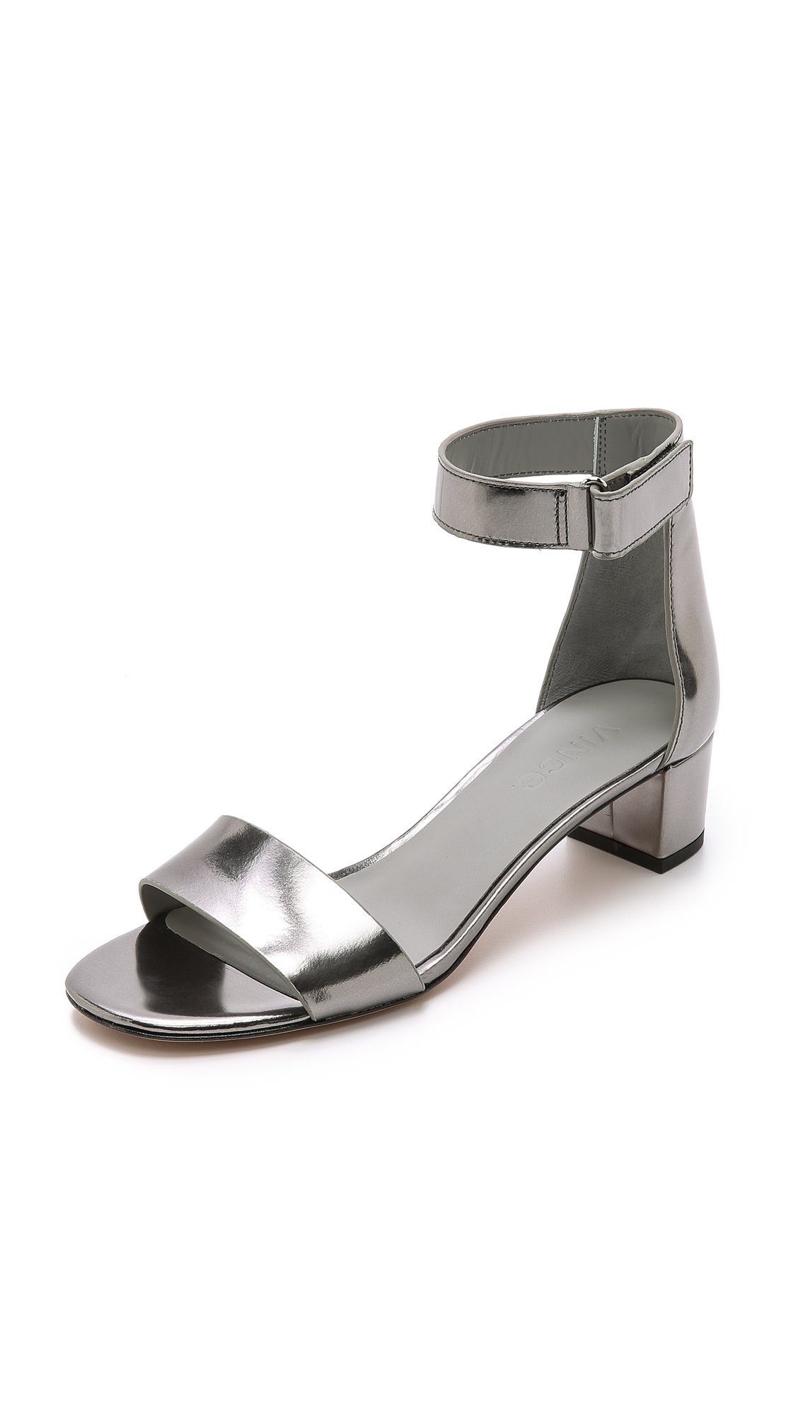 Lyst Vince Vince Pewter In Metallic