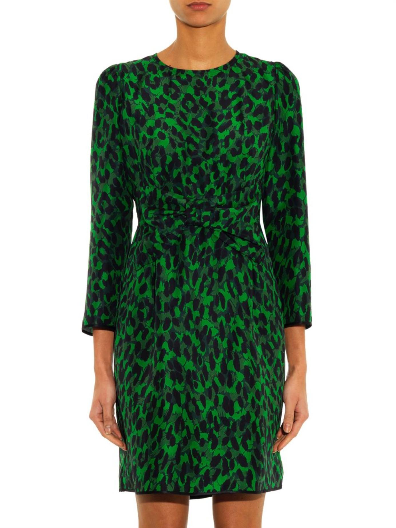 Silk Leopard Dress Silk Leopard Dress new picture