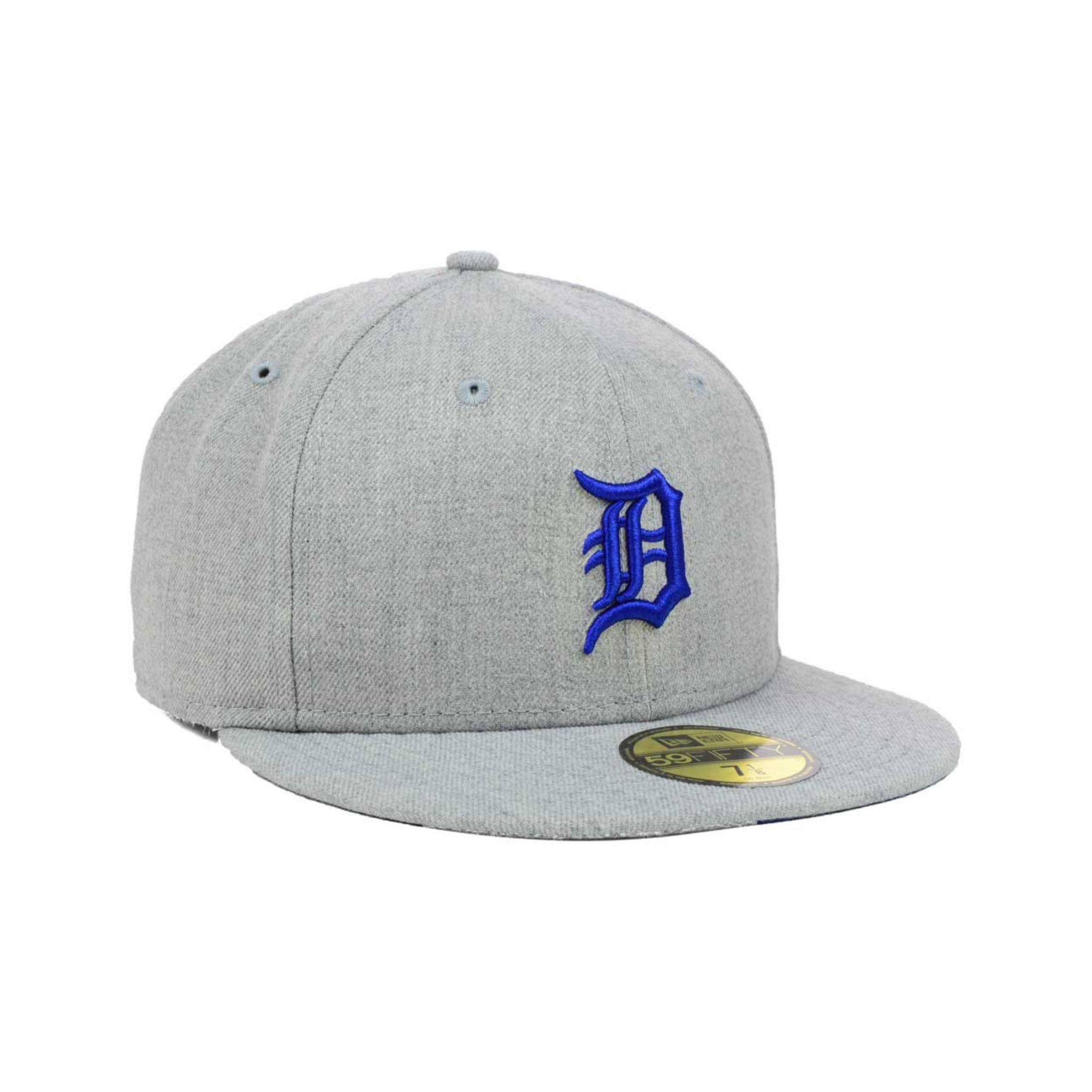 7a3f42b4d66 ... 9fifty snapback cap 749f5 44866  top quality lyst ktz detroit tigers  mlb heather basic 59fifty cap in gray for men 0eaaa