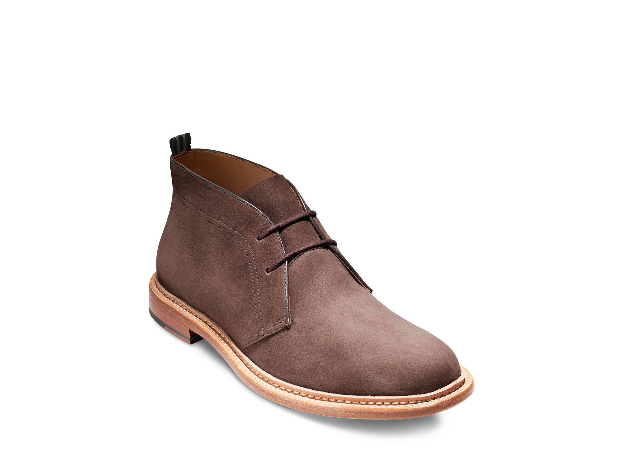 cole haan willet chukka boots in brown for chestnut