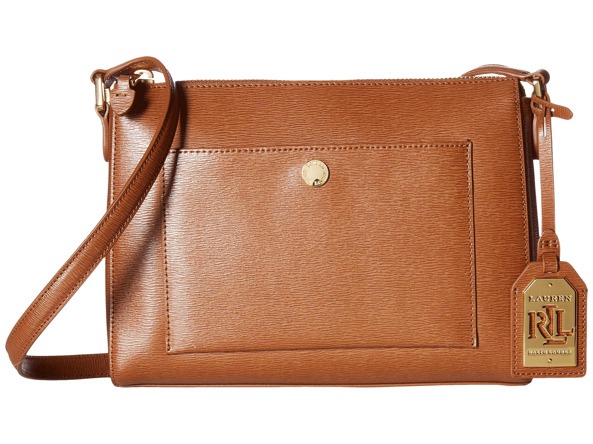 4366b992c97 Lyst - Lauren by Ralph Lauren Newbury Pocket Crossbody