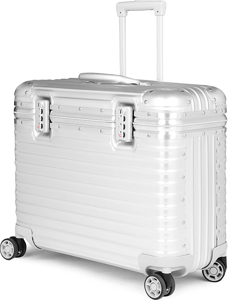 rimowa pilot multiwheel trolley for men in silver for men lyst. Black Bedroom Furniture Sets. Home Design Ideas