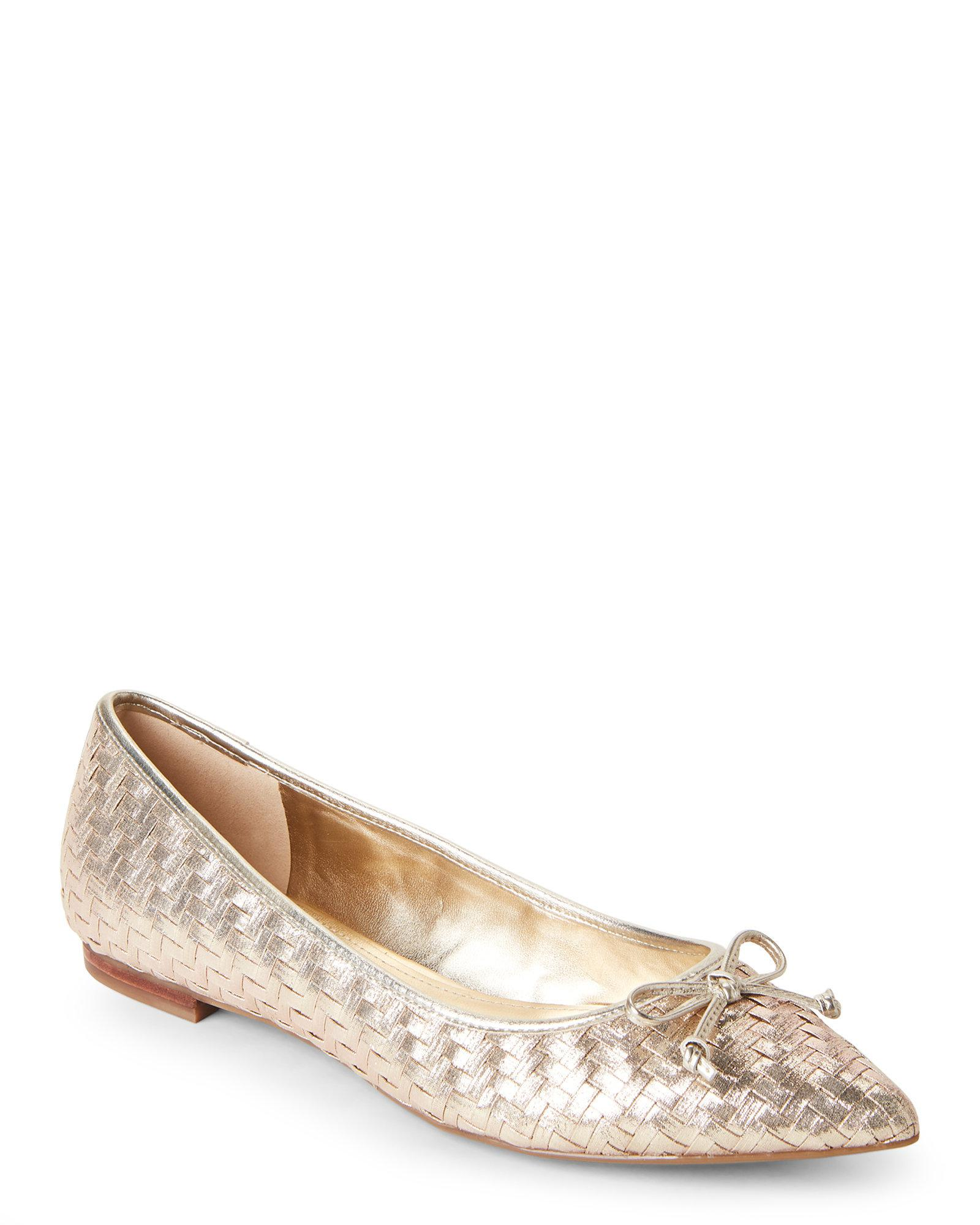 Marc Fisher Suede Bow Flats quality free shipping real for sale 7ZwLeH