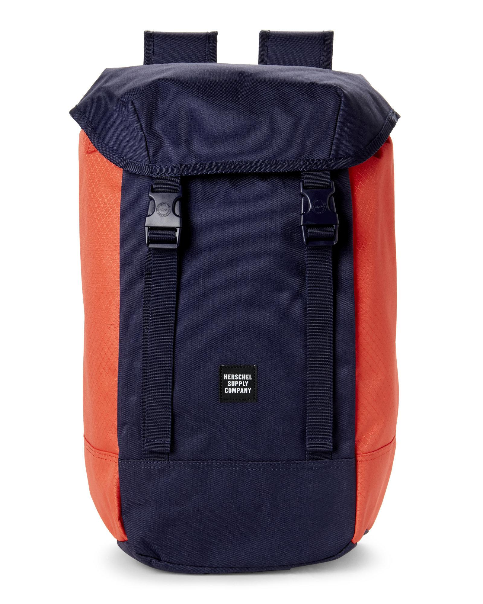 fd2707ee1eb Lyst - Herschel Supply Co. Blue   Red Iona Backpack in Blue for Men