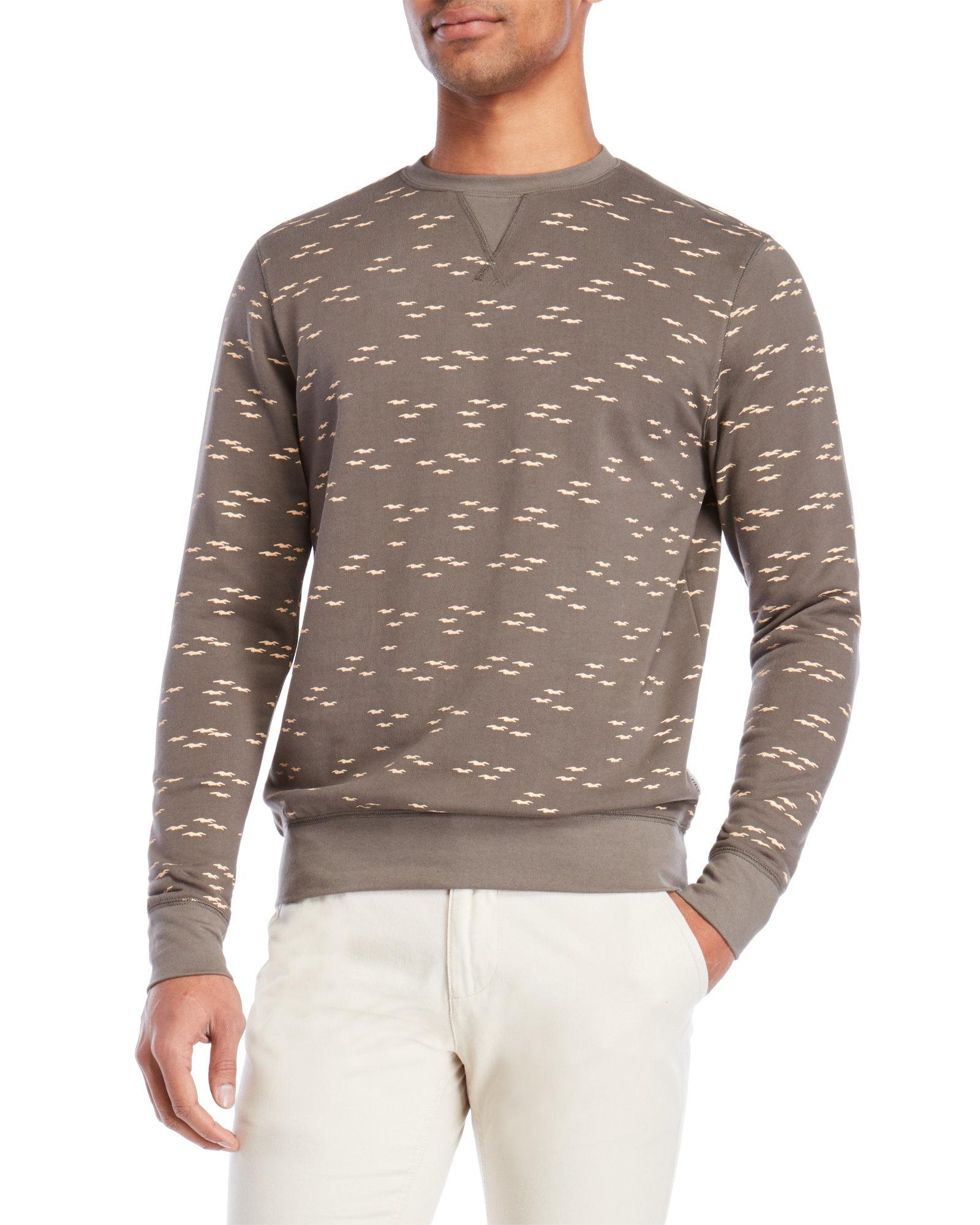 9a3f37b0205f Lyst - Bellfield Seagull Printed Sweatshirt in Gray for Men