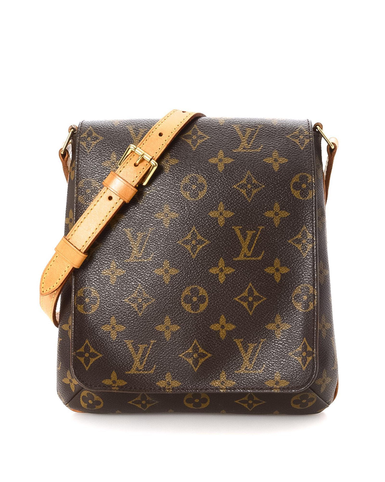 8ece0a2adf1e Lyst - Louis Vuitton Monogram Musette Salsa Long Strap Crossbody Bag ...