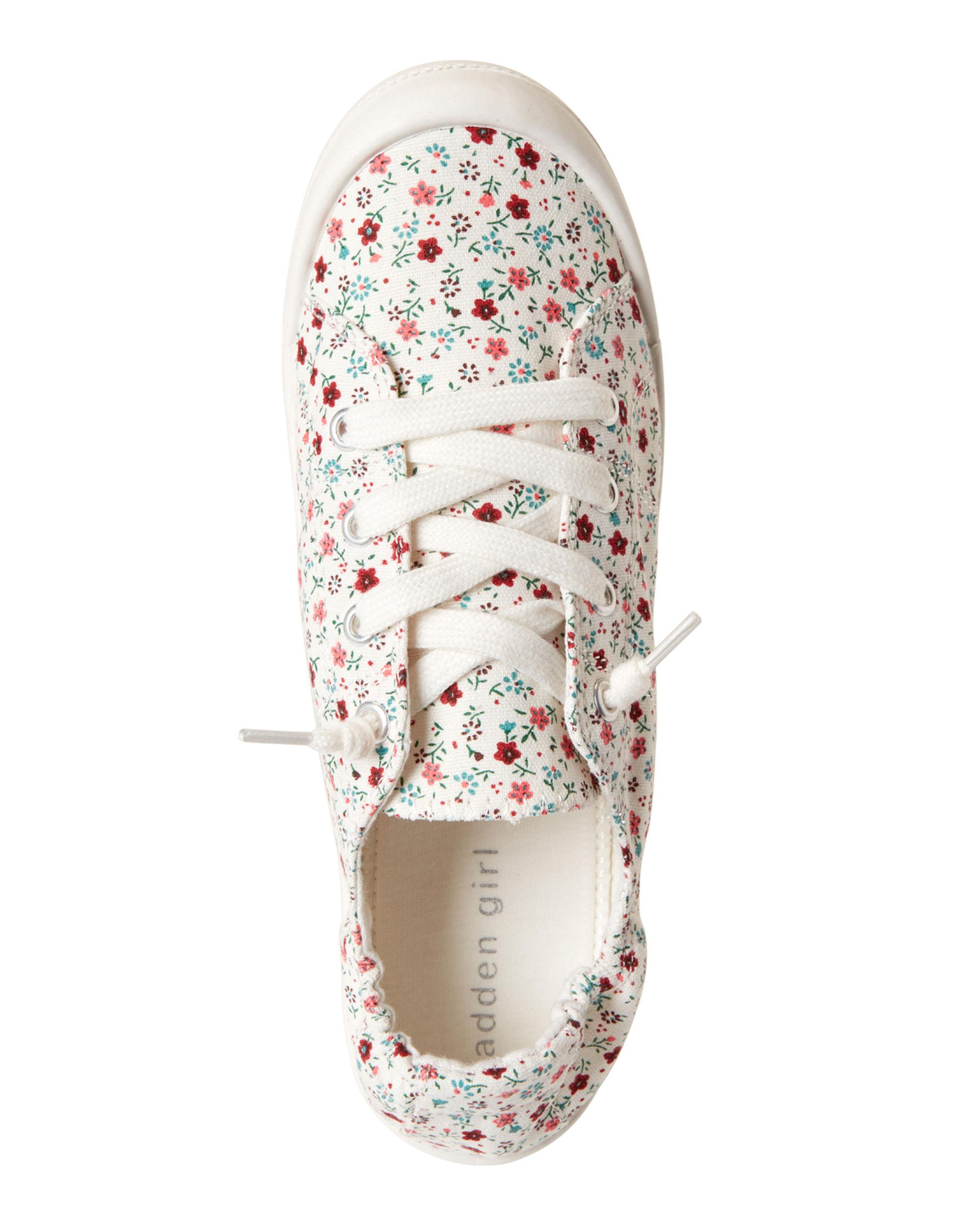 5d940dab41c Madden Girl - Multicolor Floral Baailey Canvas Slip-on Sneakers - Lyst.  View fullscreen