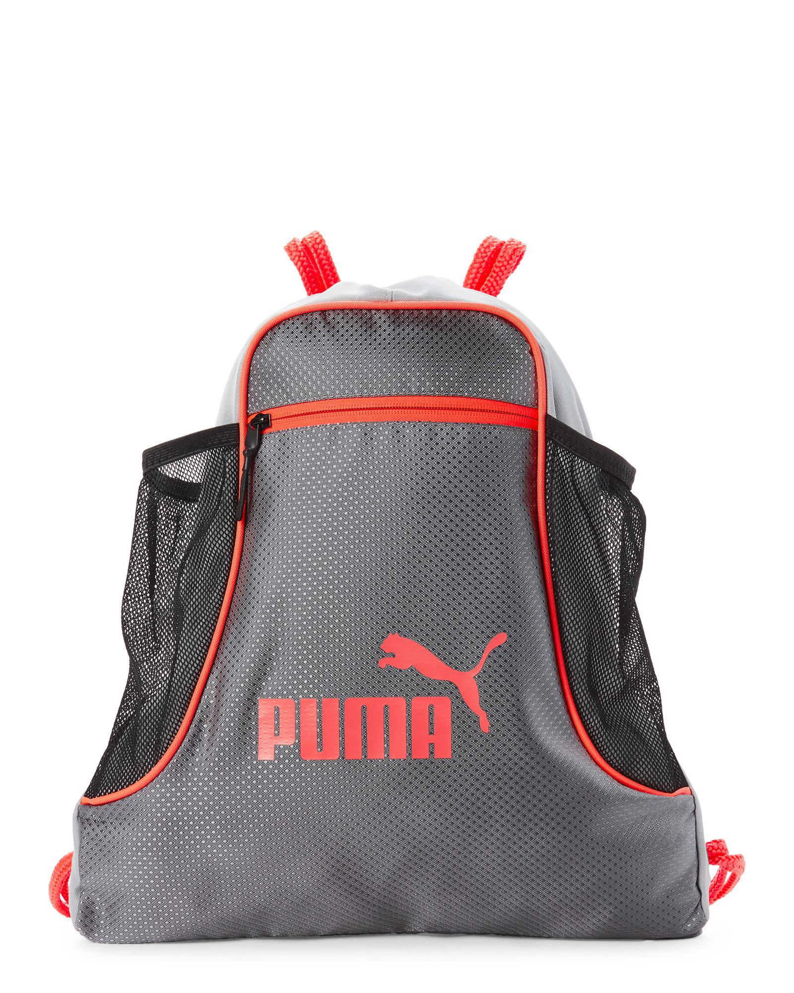 4d42a1ee240 PUMA Grey Equinox Drawstring Backpack in Gray for Men - Lyst