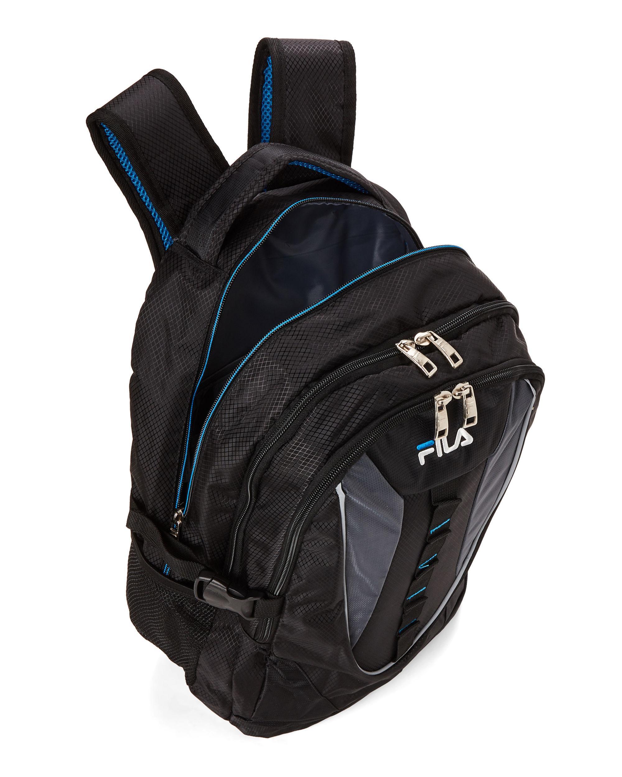 e7d88dc2c9 Men s Black   Blue Ryder Laptop Backpack