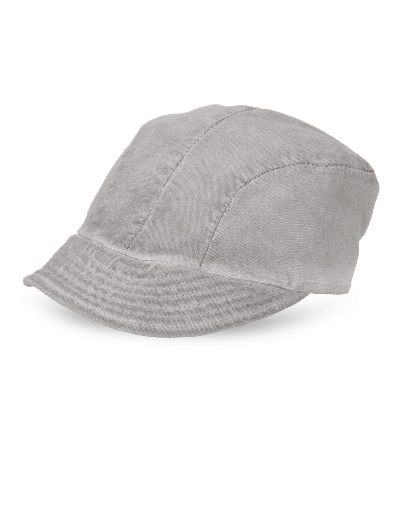 2b2decc94ab0 Masnada Short Billed Hat in Gray for Men - Lyst
