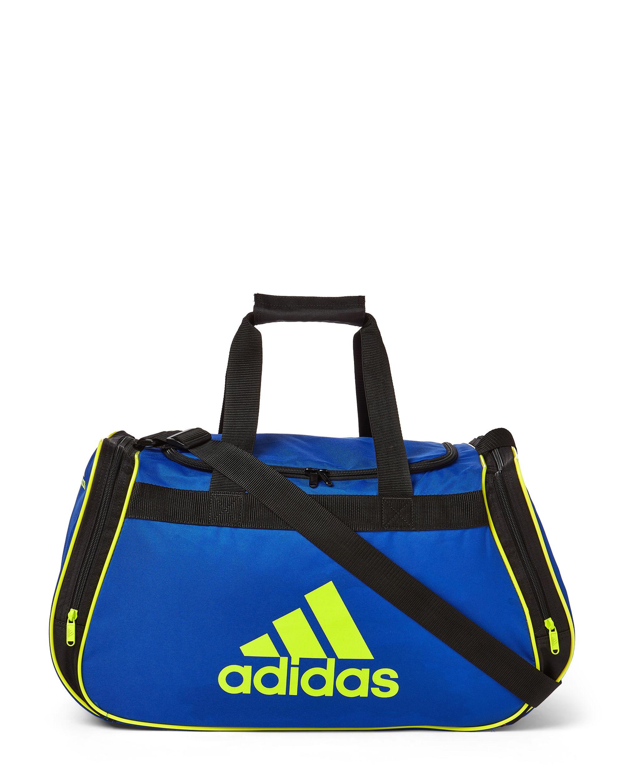 36a2b9f7958fb4 Adidas - Blue Cobalt & Electric City Diablo Ii Medium Duffel for Men -  Lyst. View fullscreen