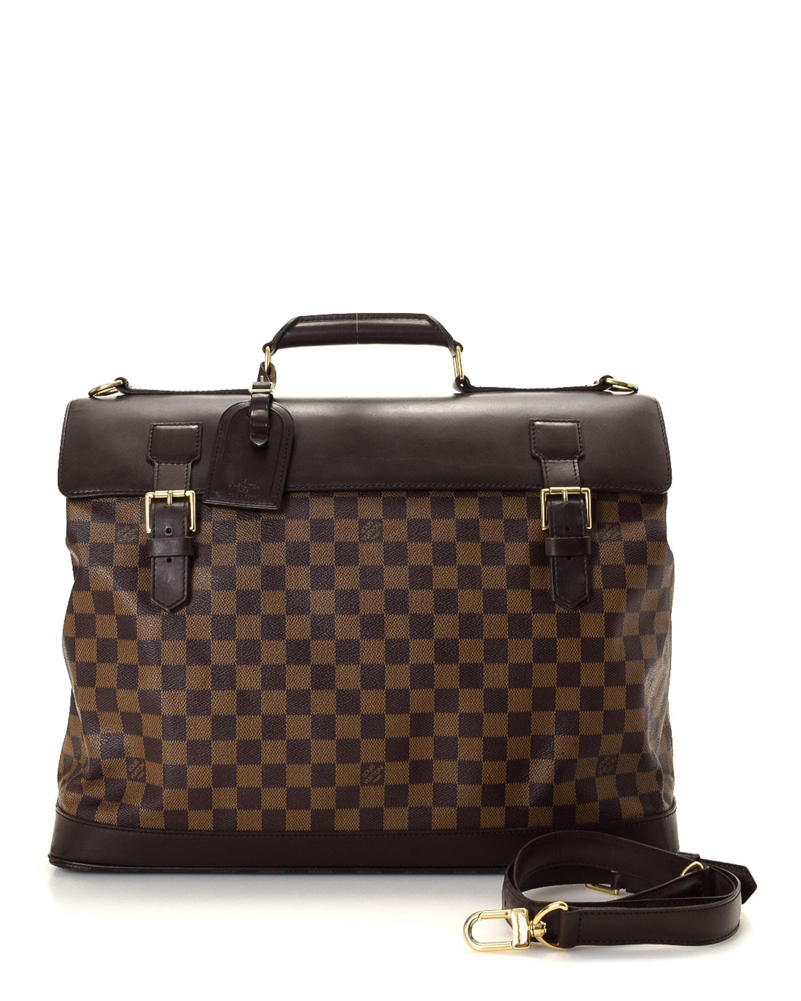 5d9c0c0d6de6 Lyst - Louis Vuitton West End Gm Travel Bag - Vintage in Brown