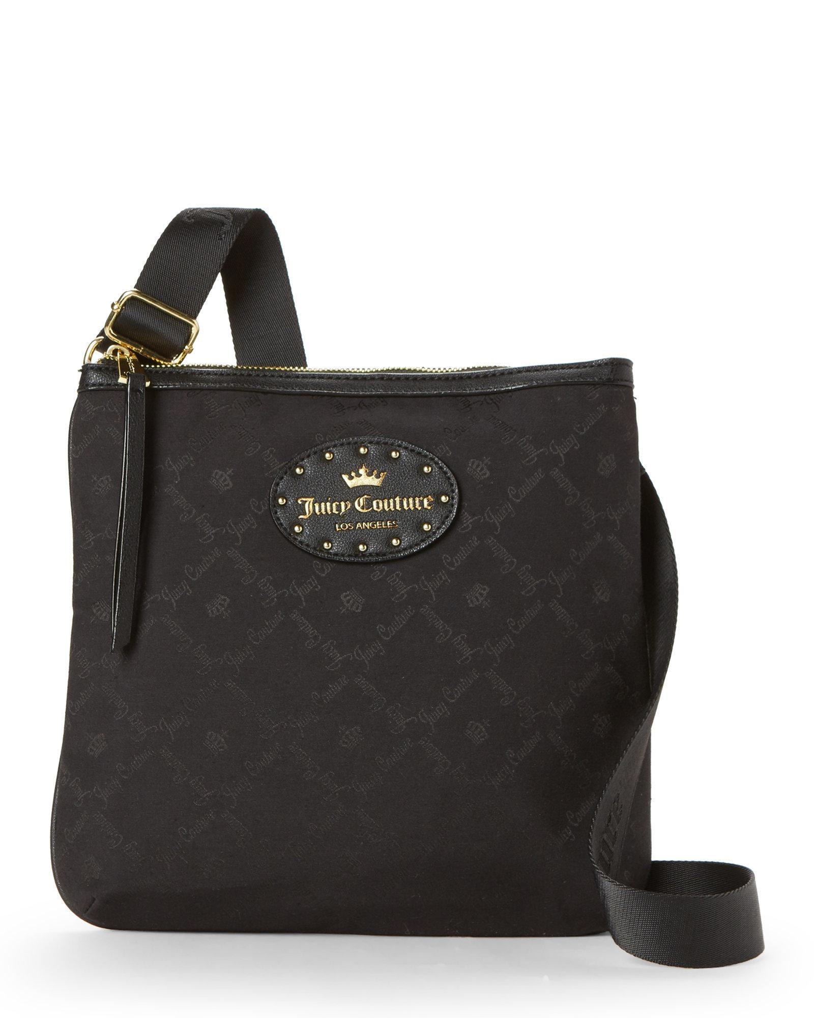 2dfe68c33 Juicy Couture Black Yours Truly Crossbody in Black - Lyst