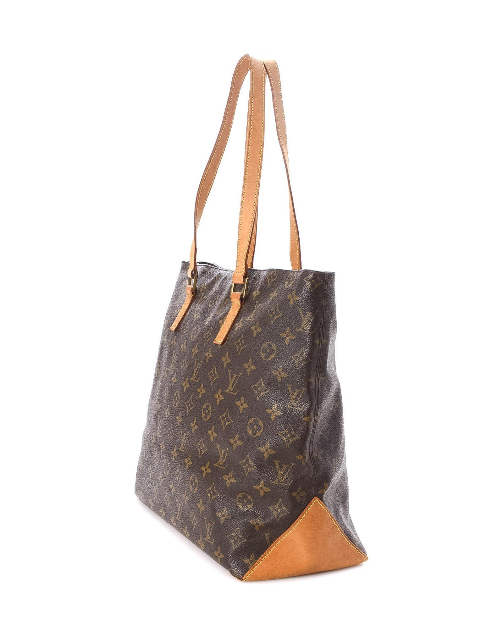 b25e3051c27c Lyst - Louis Vuitton Cabas Mezzo Tote Bag - Vintage in Brown