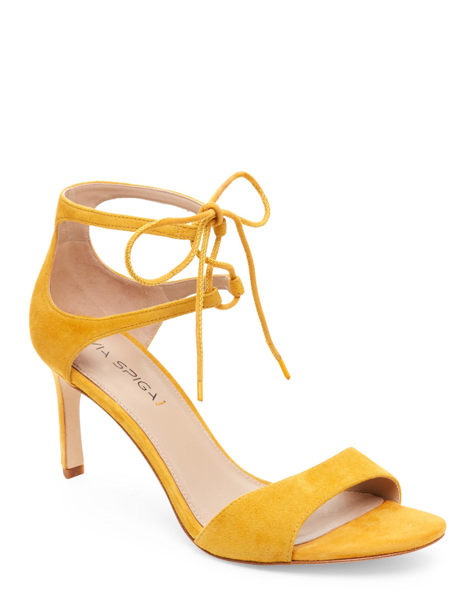 Sam Edelman Shoes Lace Up Yellow