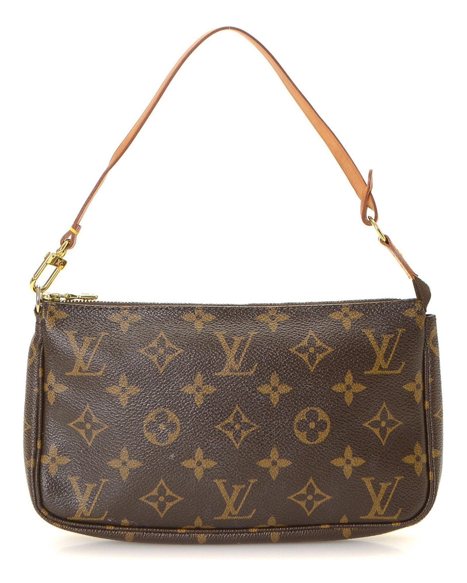845583bef938 Lyst - Louis Vuitton Pochette Accessoires Monogram Pouch - Vintage ...