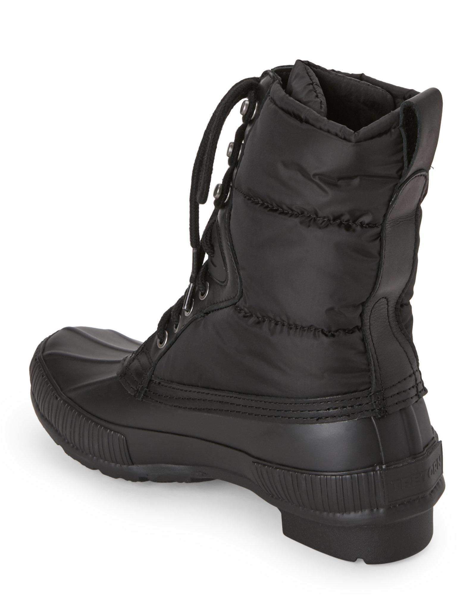 Lyst Tretorn Black Foley Duck Rain Boots In Black