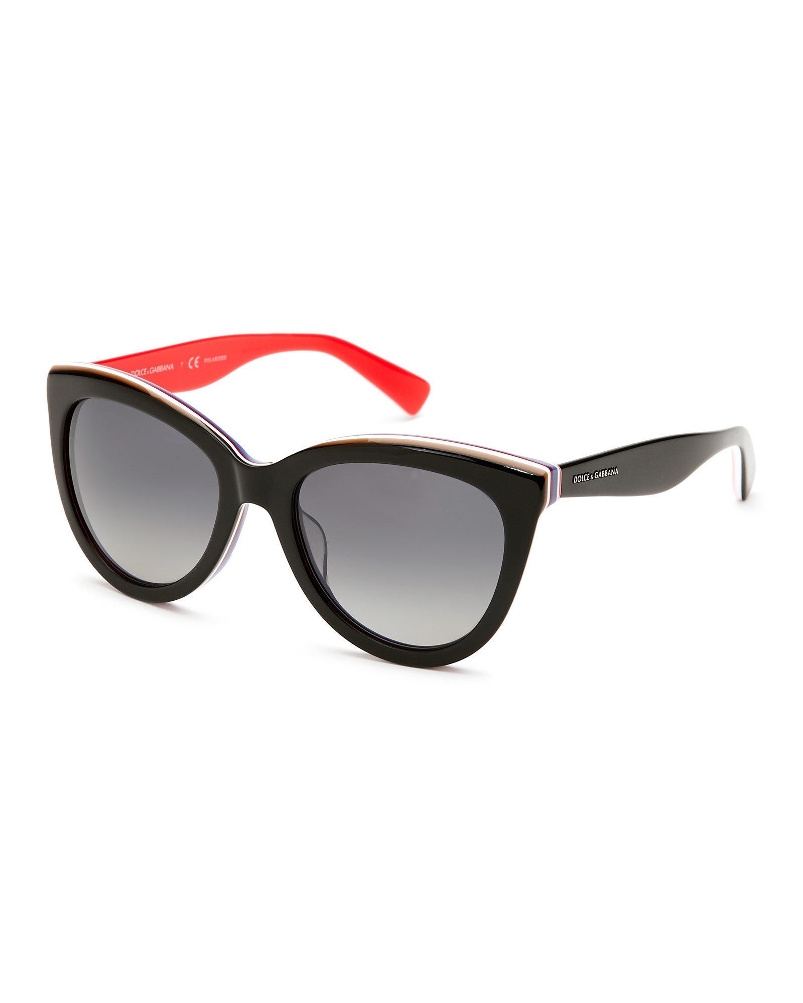 f8589fd84c5 Dolce Gabbana Cat Eye Sunglasses