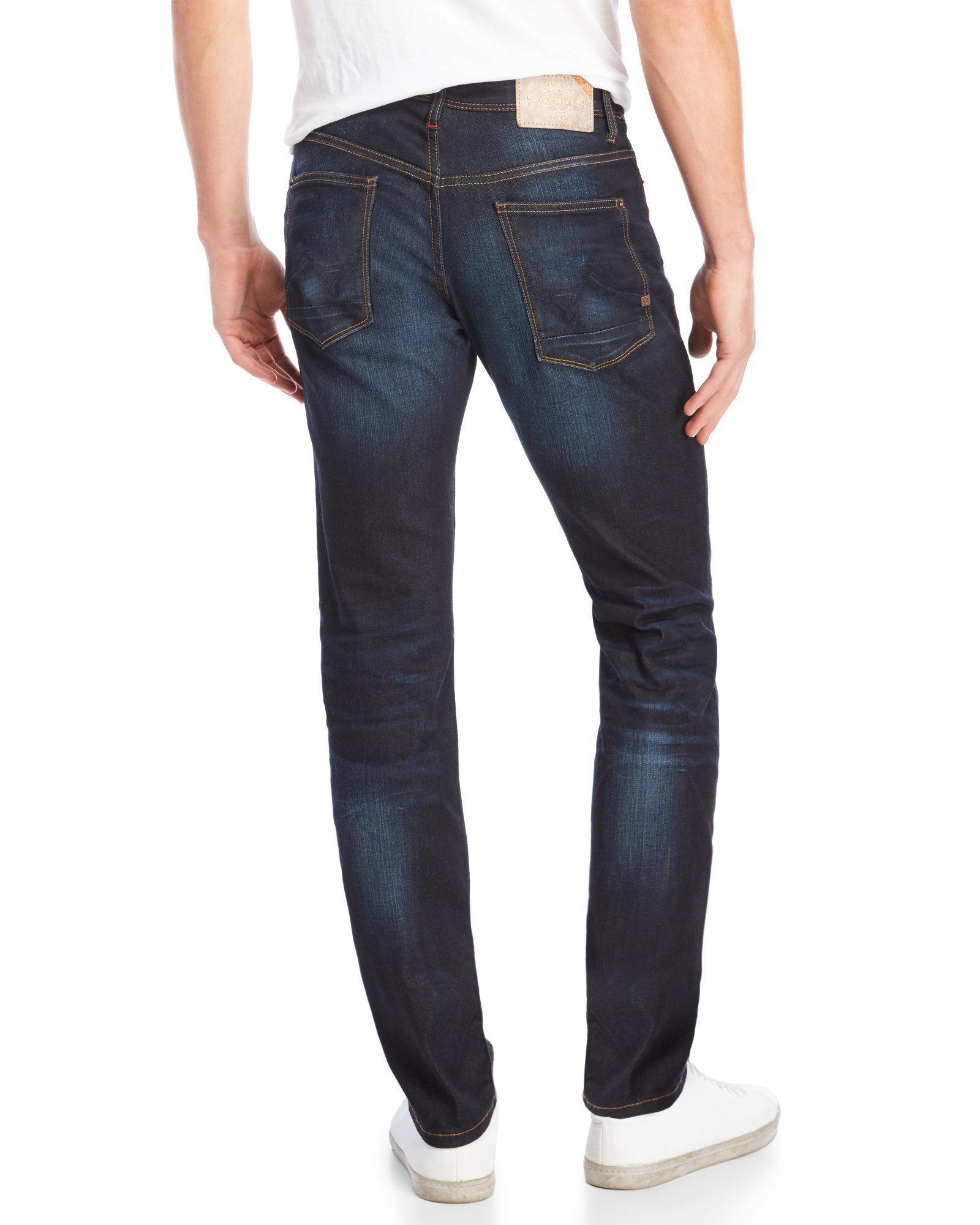 Mens Slim Jeans Gaud? hUUtIHv