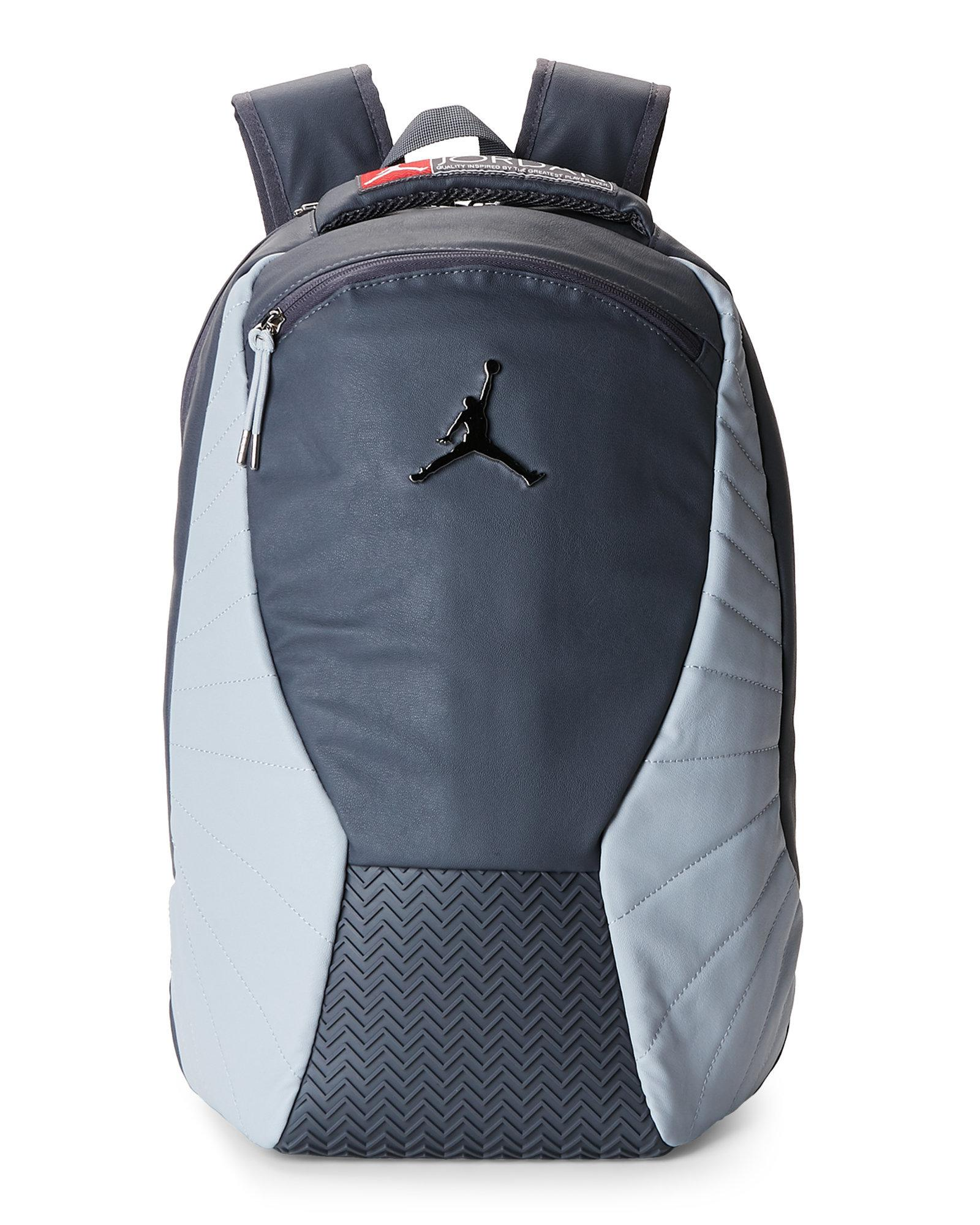 23e074c9a86e Lyst - Nike Dark Grey Jordan Retro Backpack in Gray for Men