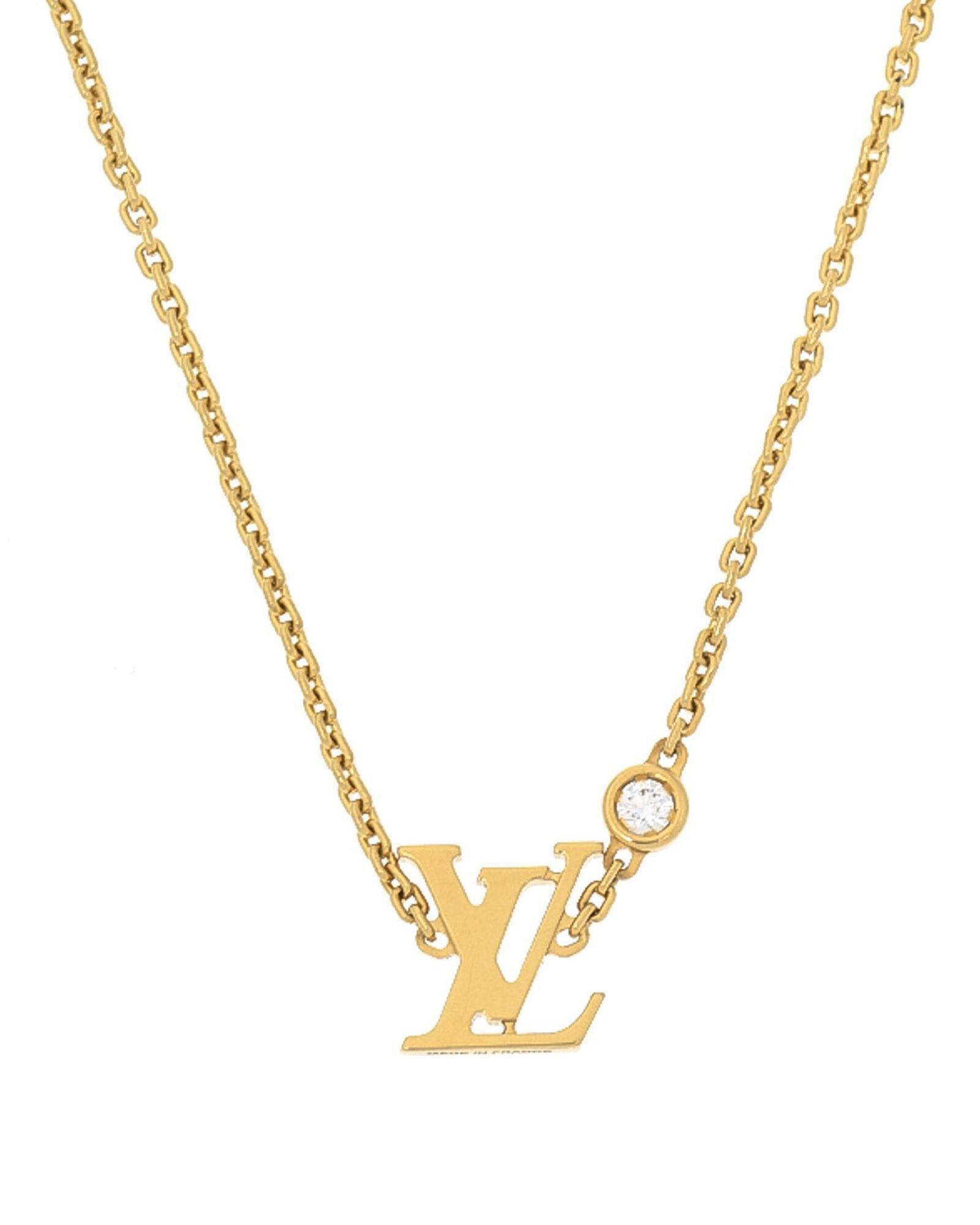 d9b588ead9bd6 Lyst Louis Vuitton Idylle Blossom Pendant Necklace Vintage In