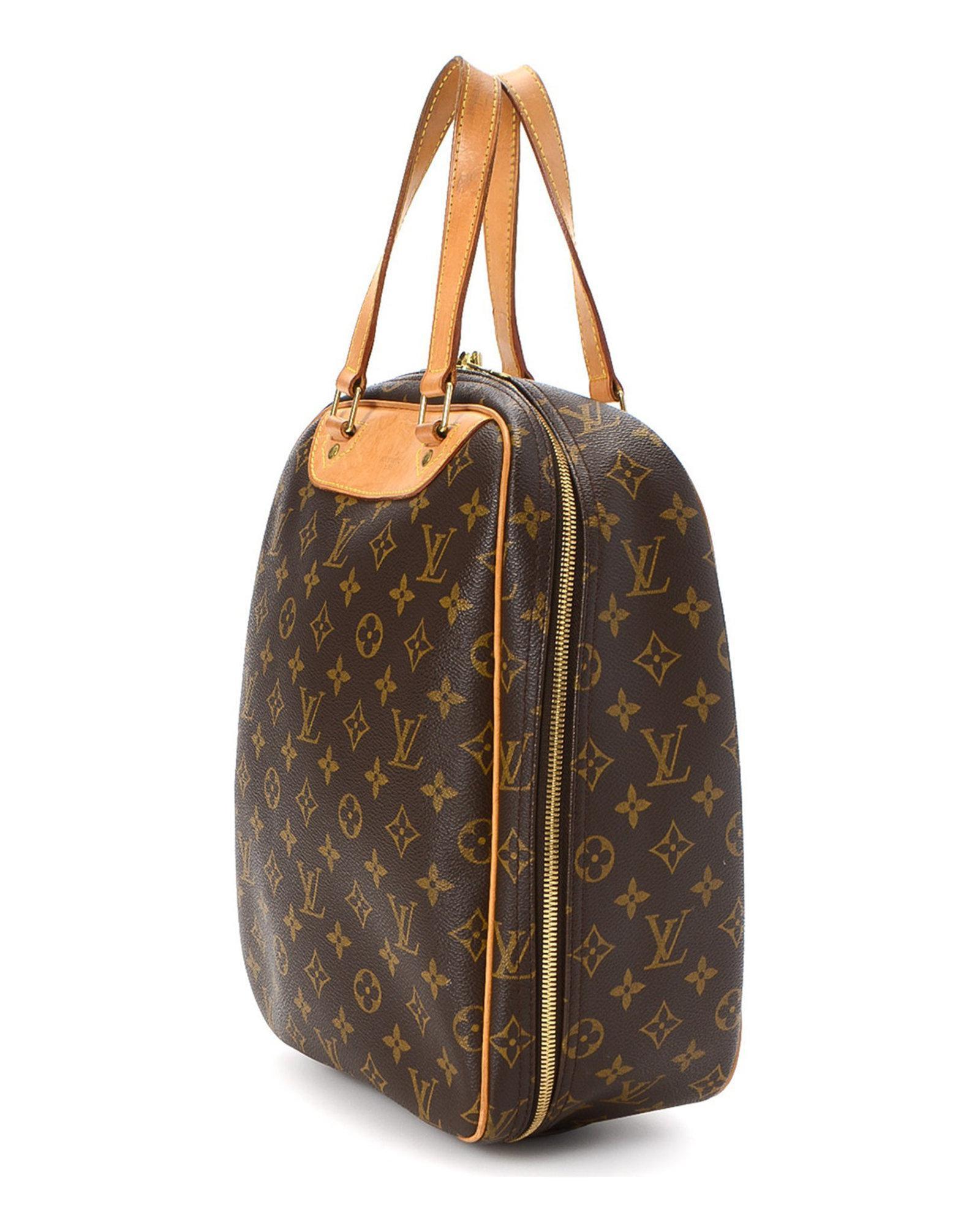 478c02655d69 Lyst - Louis Vuitton Excursion Handbag - Vintage in Brown