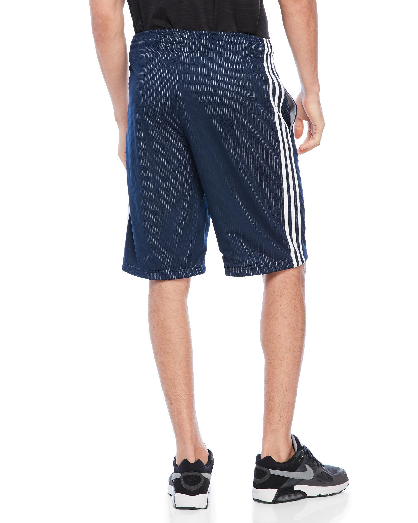 a8d7cbeaaaff Lyst - adidas Triple Up Basketball Shorts in Blue for Men