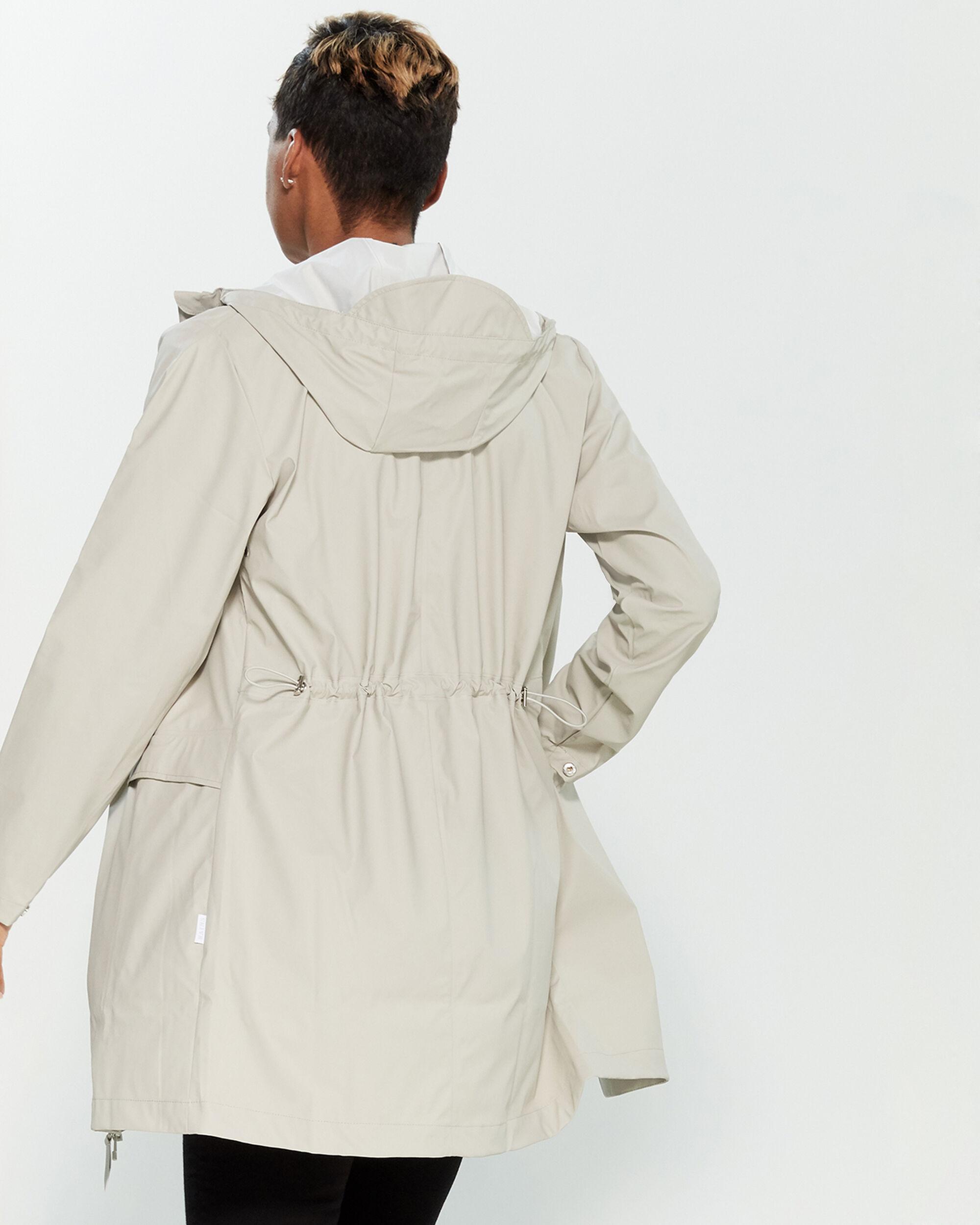 c5fc893f Rains Hooded Slicker Raincoat - Lyst