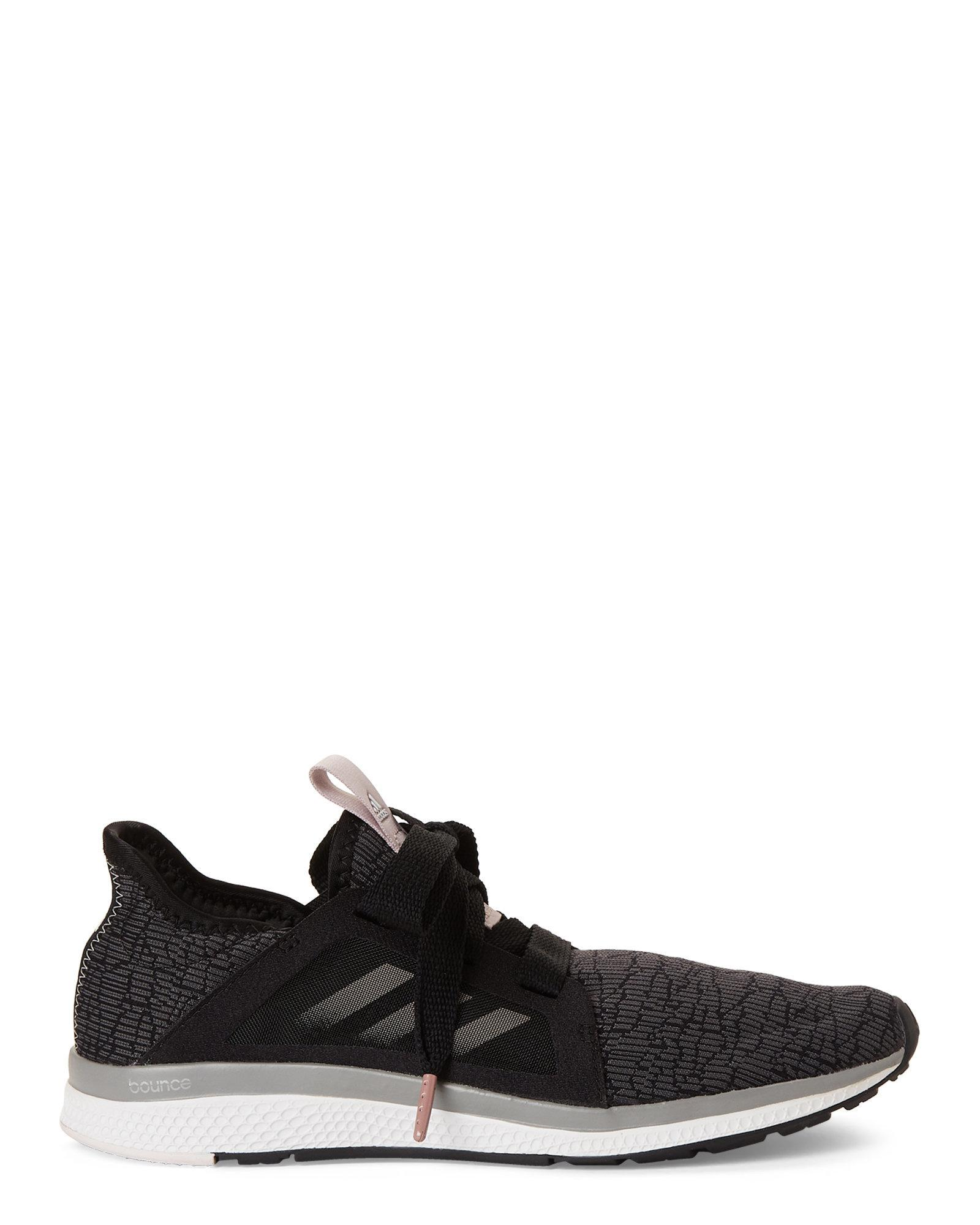 sale retailer 6ae84 83bef Lyst - Adidas Black  Vapor Grey Edge Lux Knit Running Sneake