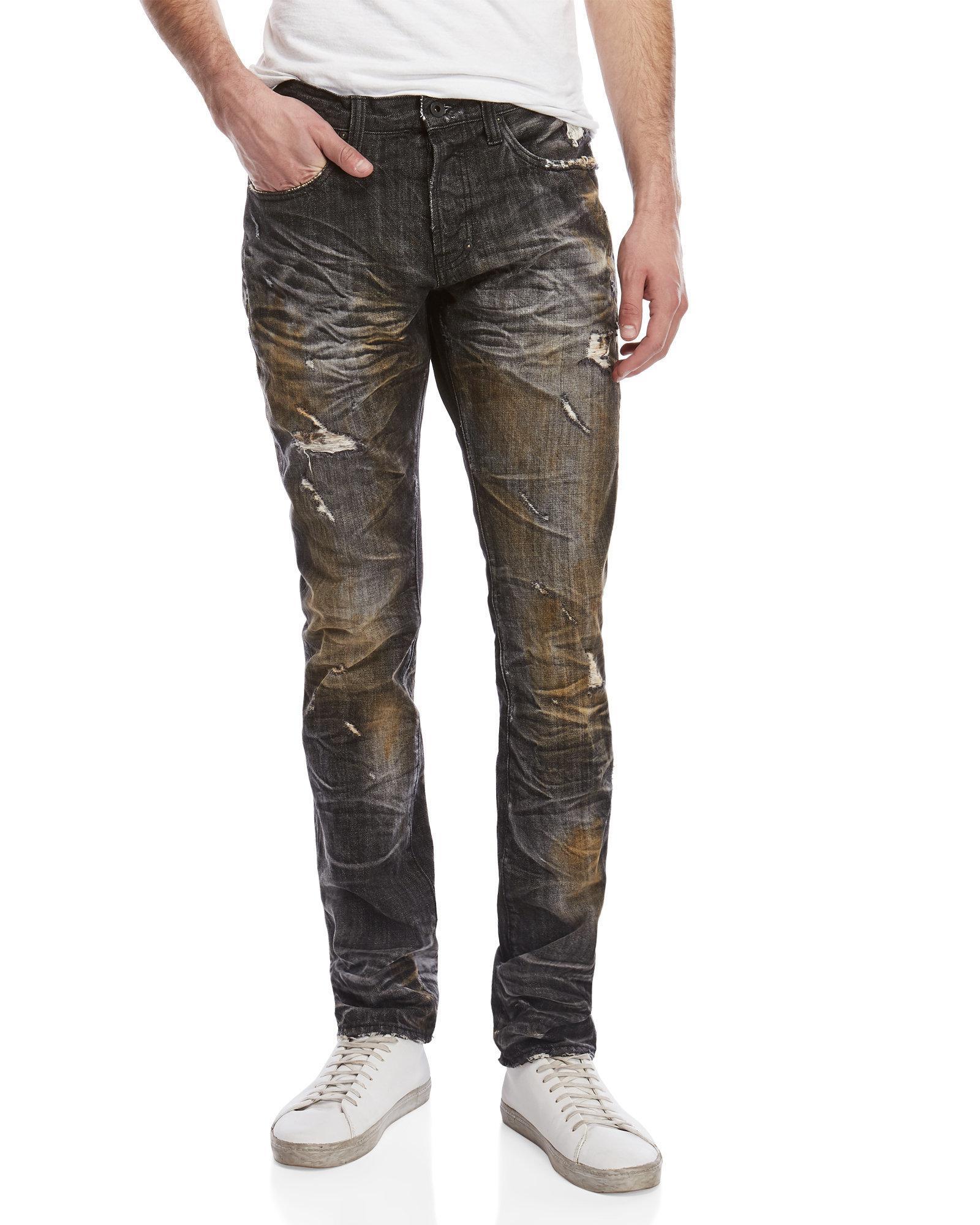 Lyst Prps Agreement Demon Slim Fit Jeans In Black For Men