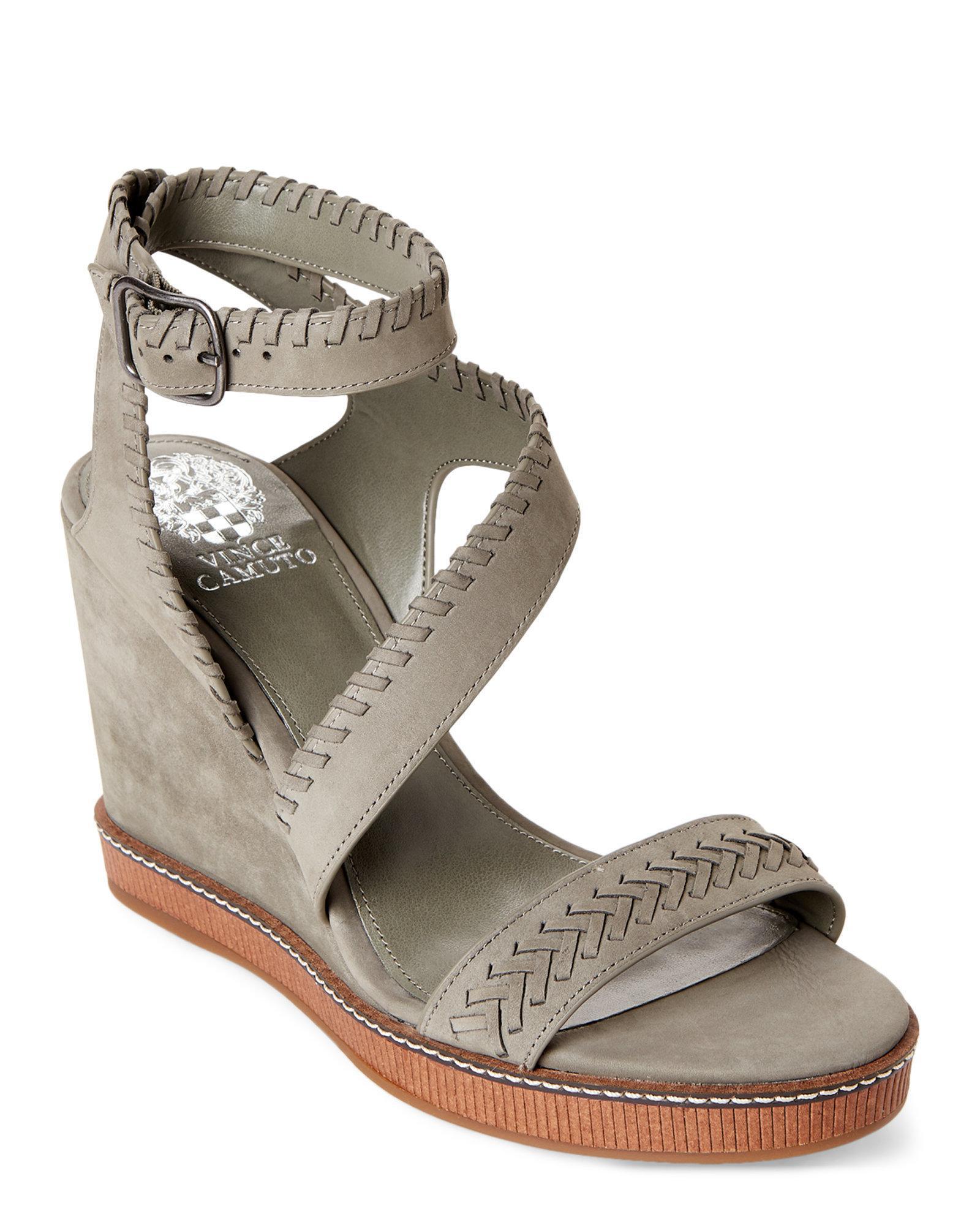 ee2c6ebab4bb Lyst - Vince Camuto Urban Jungle Ivanta Platform Wedge Sandals