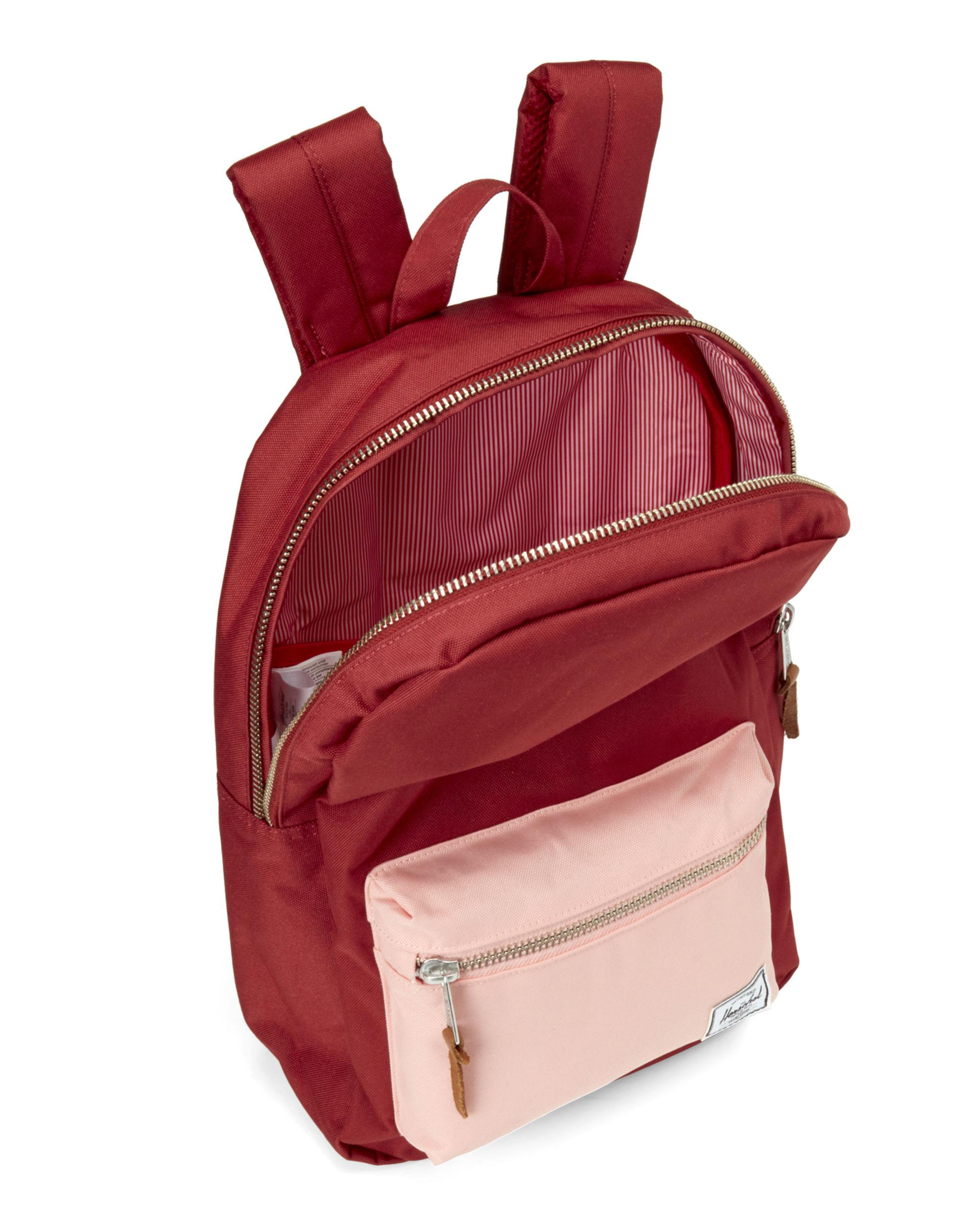 e10506d7e79 Lyst - Herschel Supply Co. Brick Peach Settlement Mid Backpack in Red for  Men