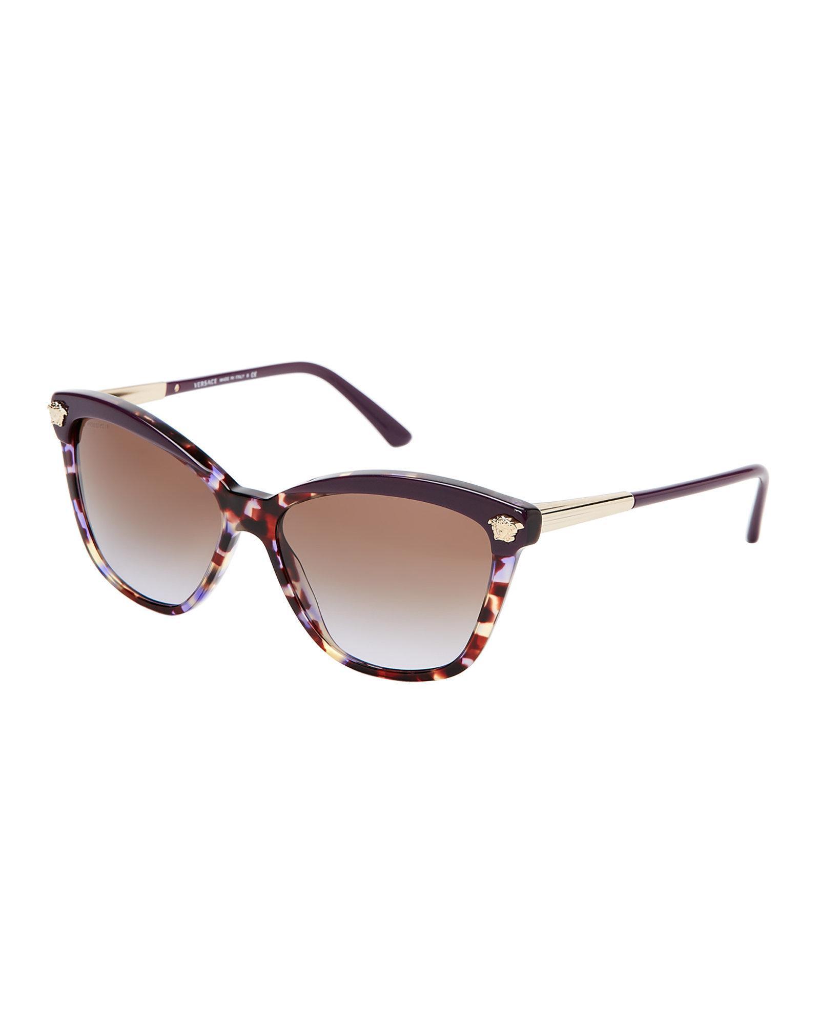 925e8fb3c6f5 Lyst - Versace Ve4313 Tortoiseshell-look Cat Eye Sunglasses in Brown