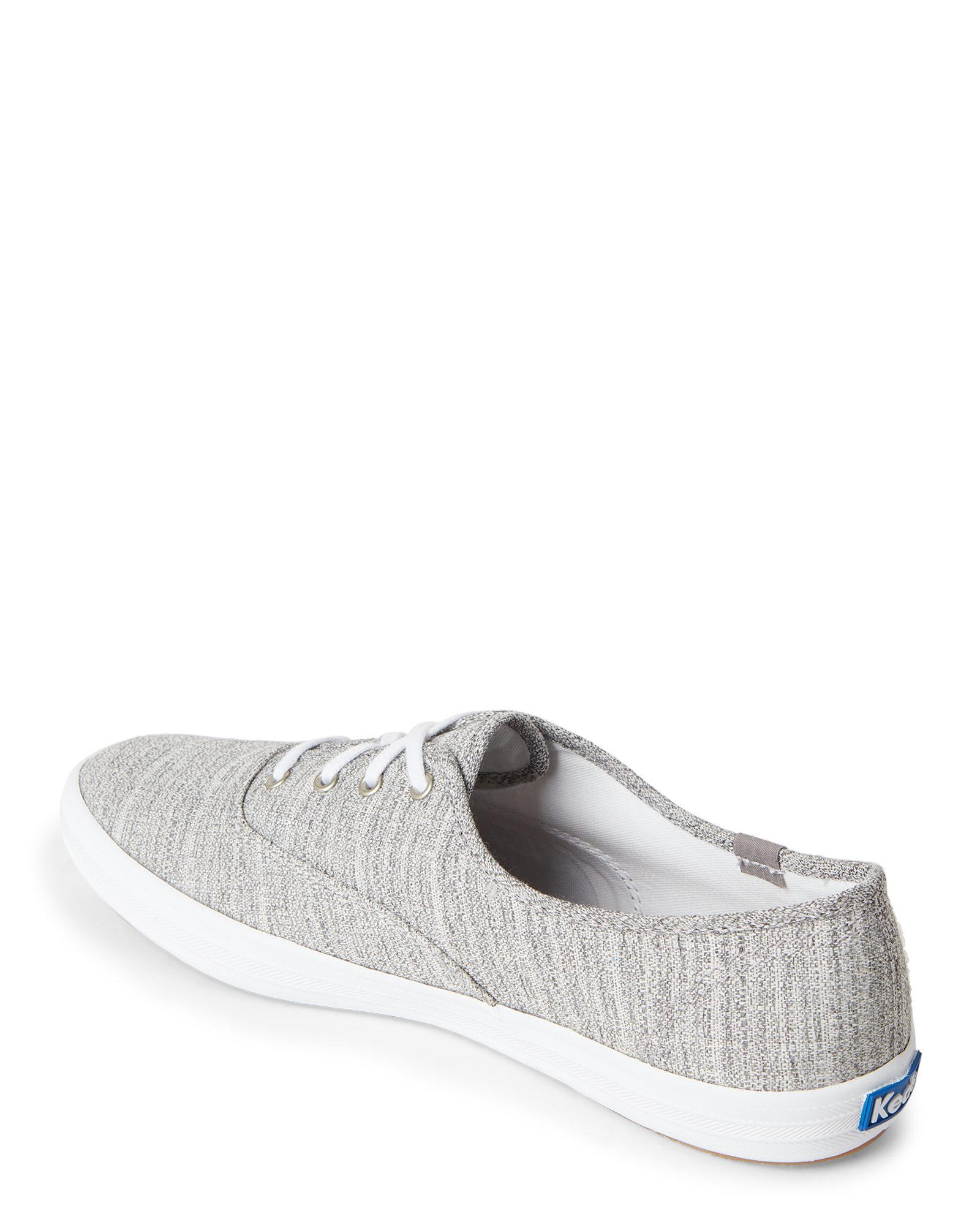 1e1f167d700 Lyst - Keds Grey Champion Knit Sneakers in Gray