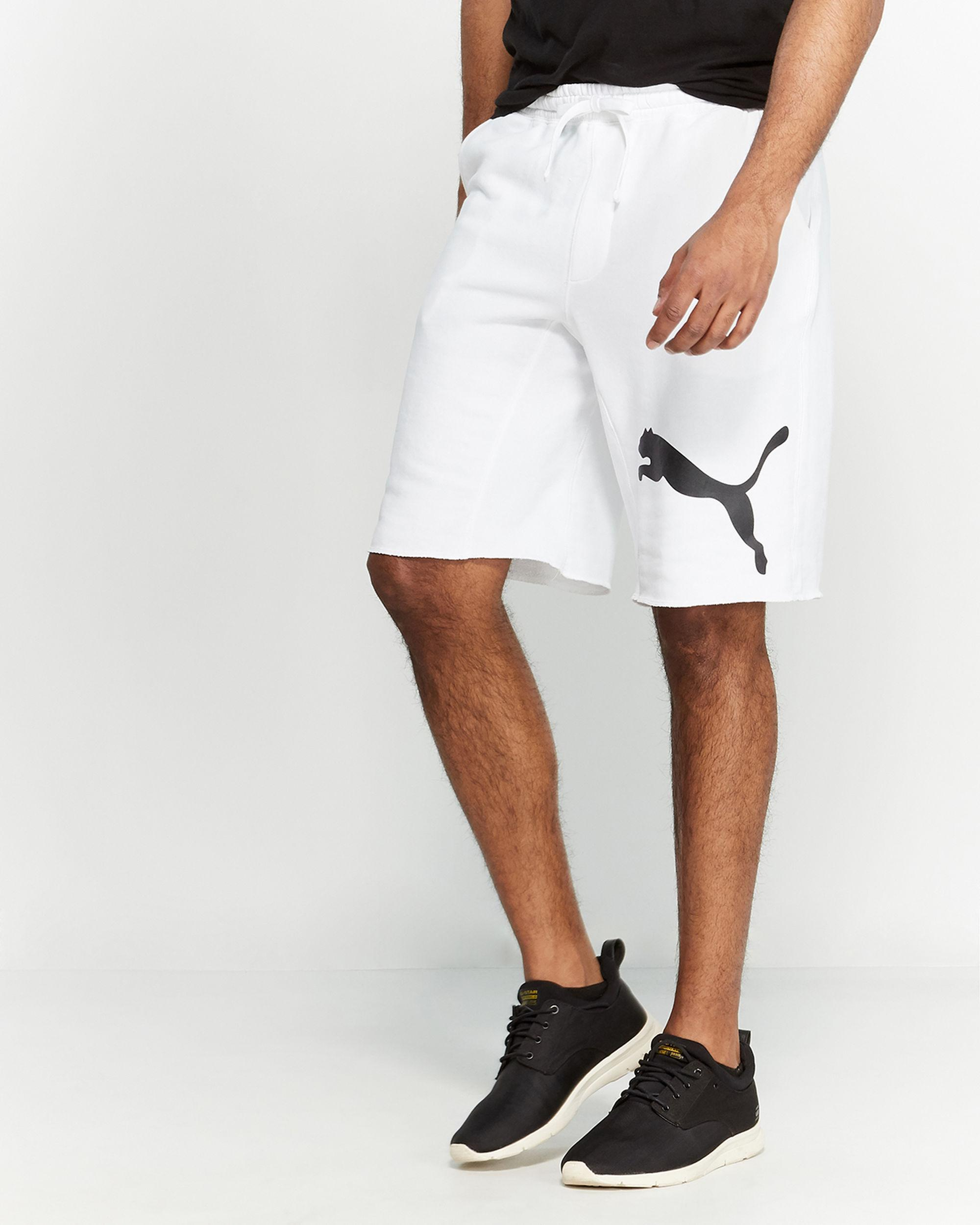 89bec970bb05 Lyst - PUMA Victory Sweat Shorts in White for Men