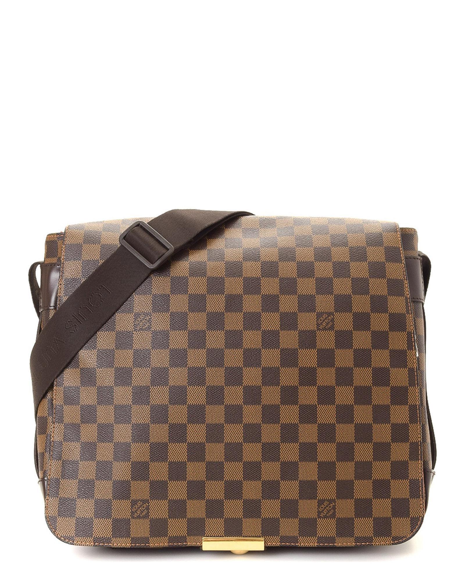 52585d6a9596 Lyst - Louis Vuitton Bastille Damier Ebene Messenger Bag - Vintage ...